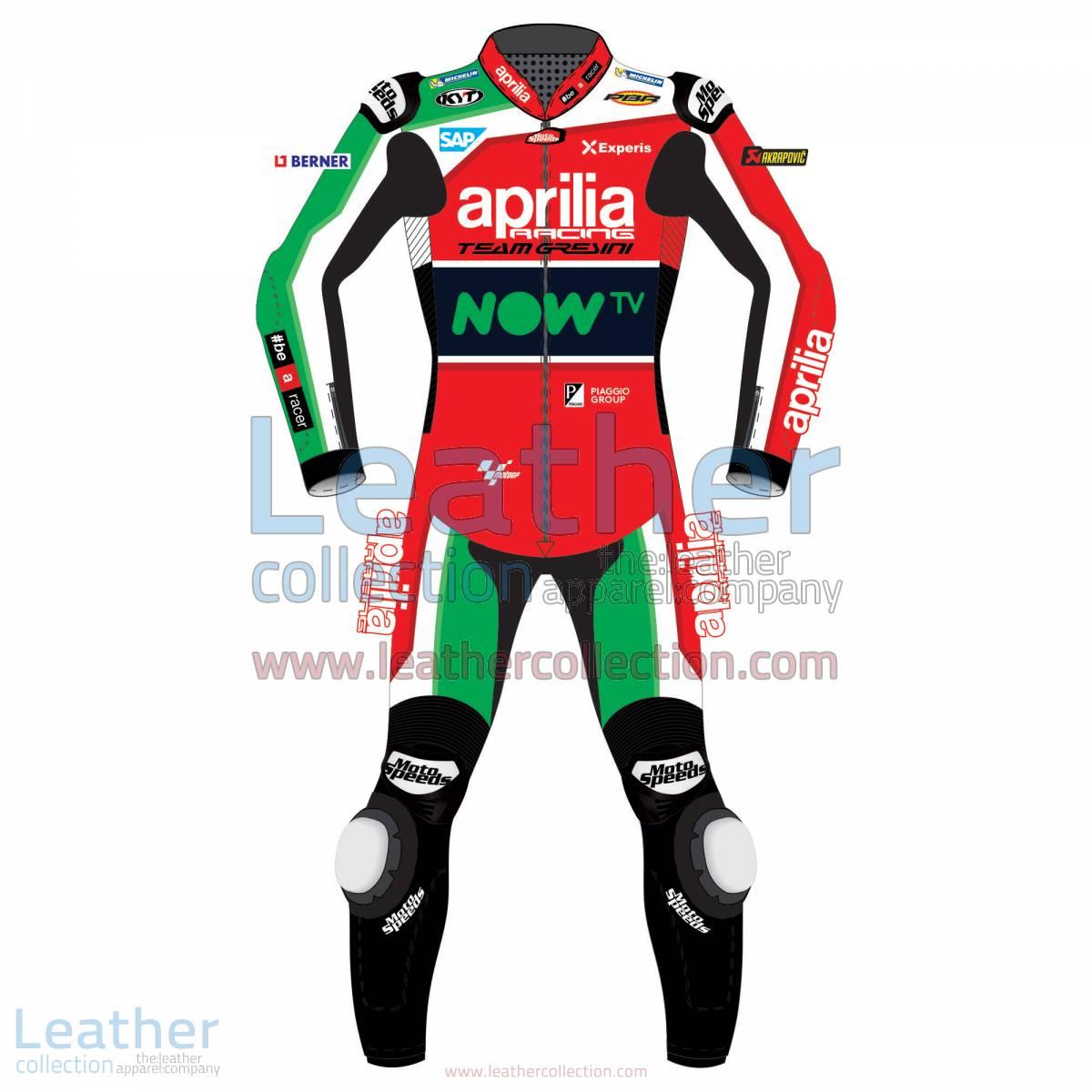 Aleix Espargaro Aprilia 2017 MotoGP Race Suit | Aleix Espargaro Aprilia 2017 MotoGP Race Suit