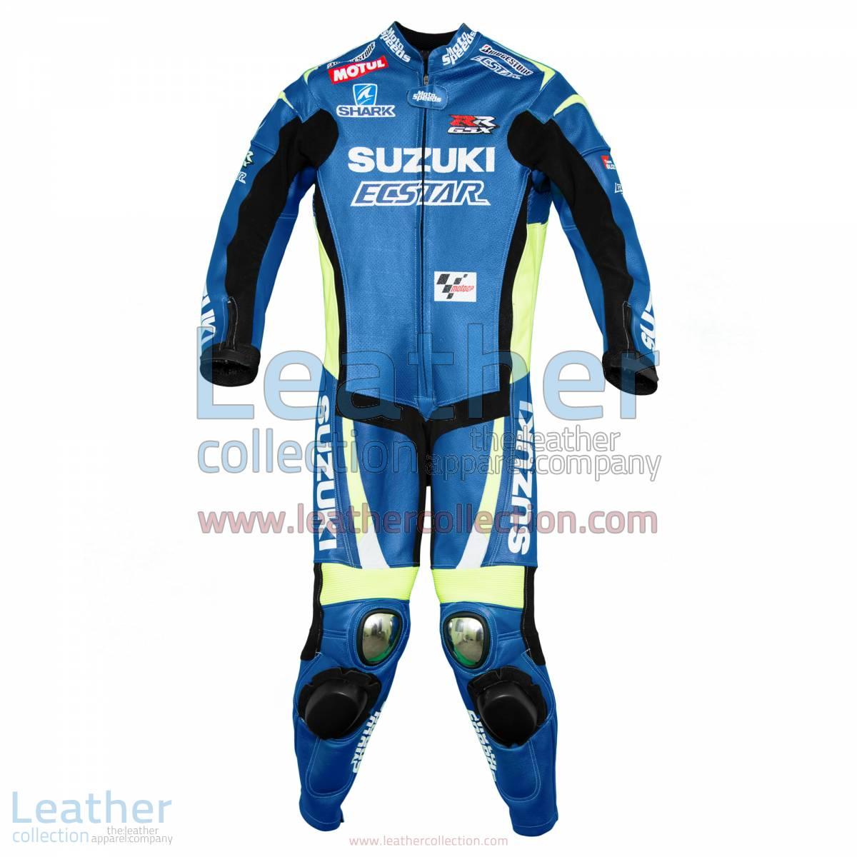 Aleix Espargaro Suzuki 2015 MotoGP Leathers | suzuki leathers