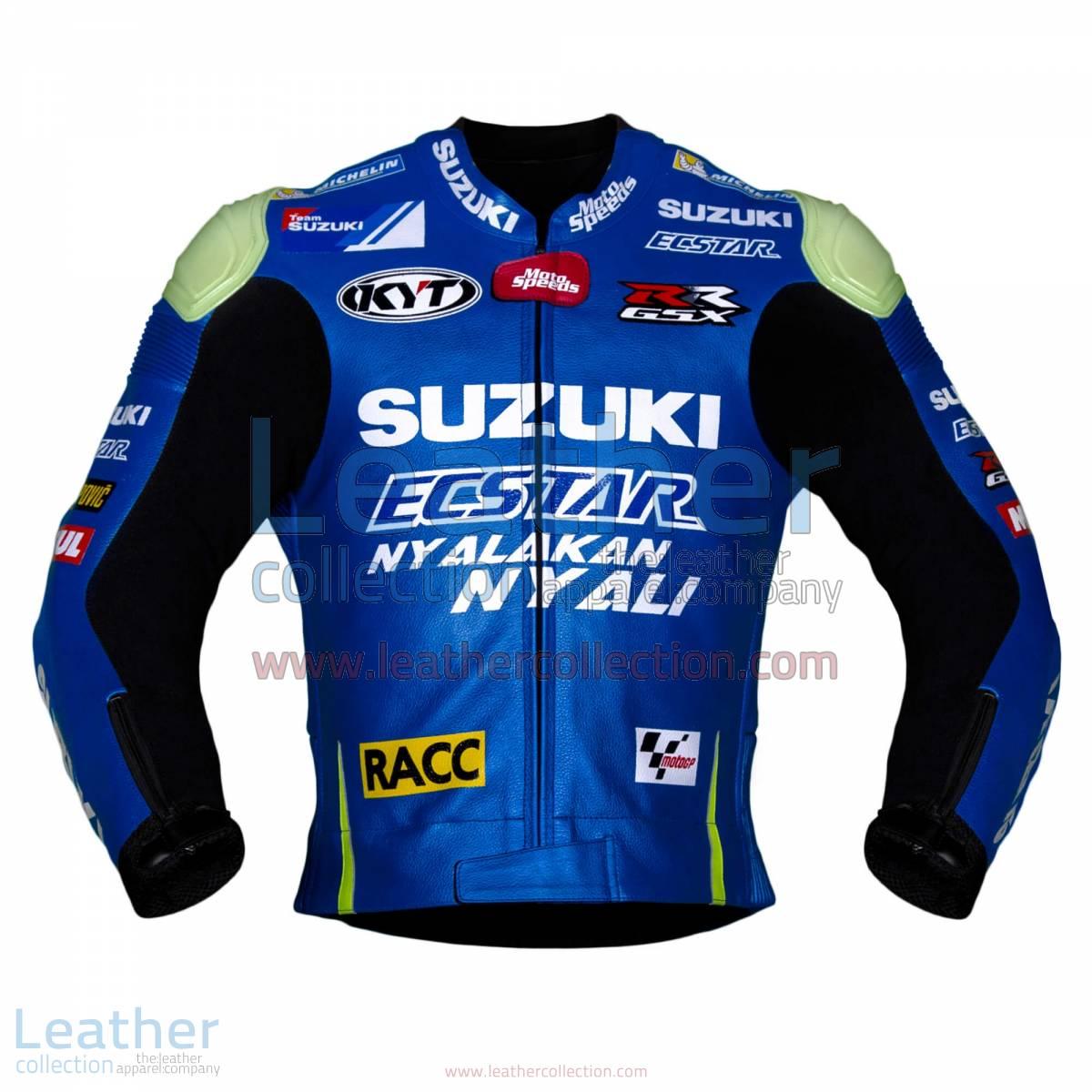 Aleix Espargaro Suzuki 2016 MotoGP Racing Jacket | Aleix Espargaro Suzuki 2016 MotoGP Racing Jacket