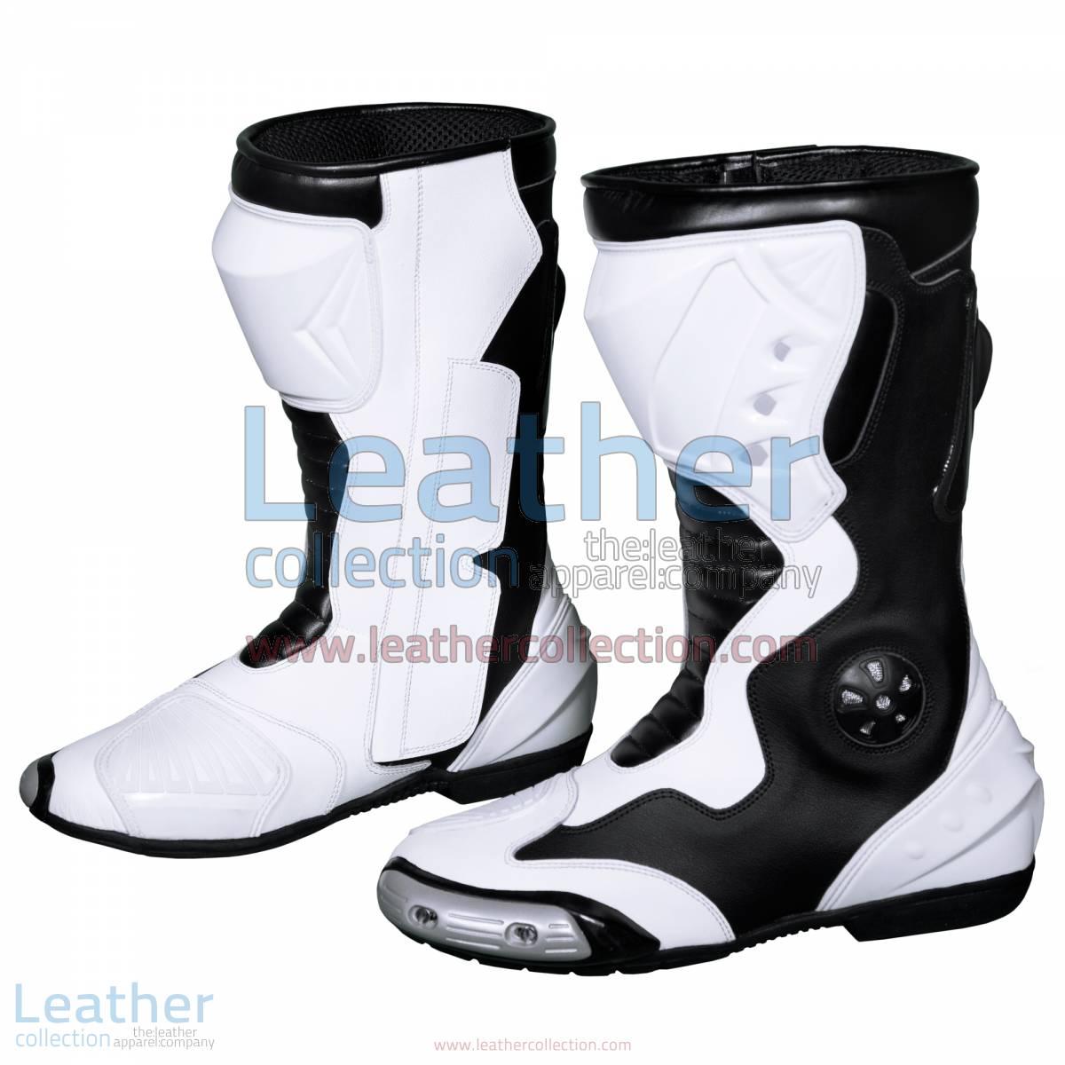 Alex Rins MotoGP 2017 Leather Racing Boots | Alex Rins MotoGP 2017 Leather Racing Boots