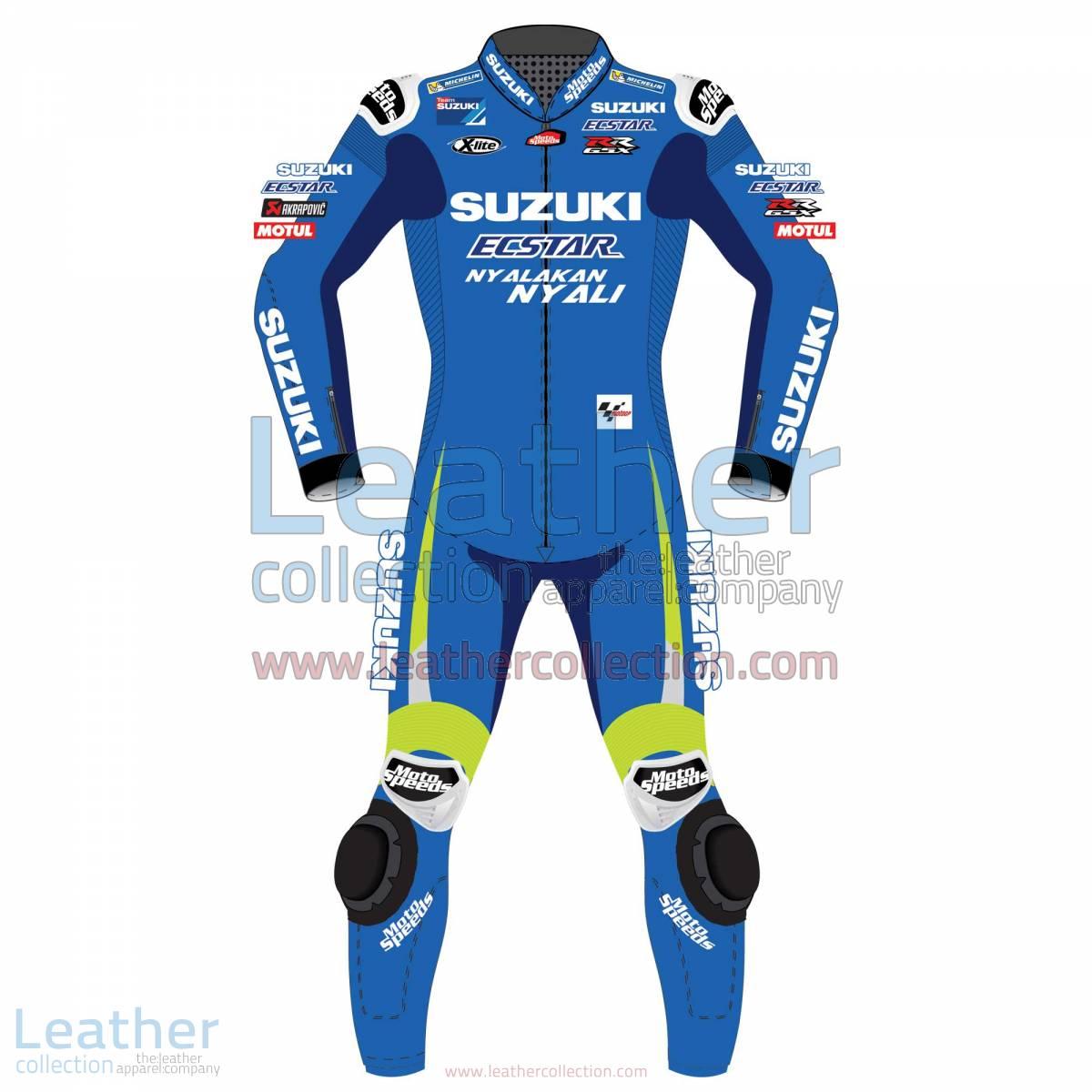 Alex Rins Suzuki MotoGP 2017 Racing Suit | Alex Rins Suzuki MotoGP 2017 Racing Suit