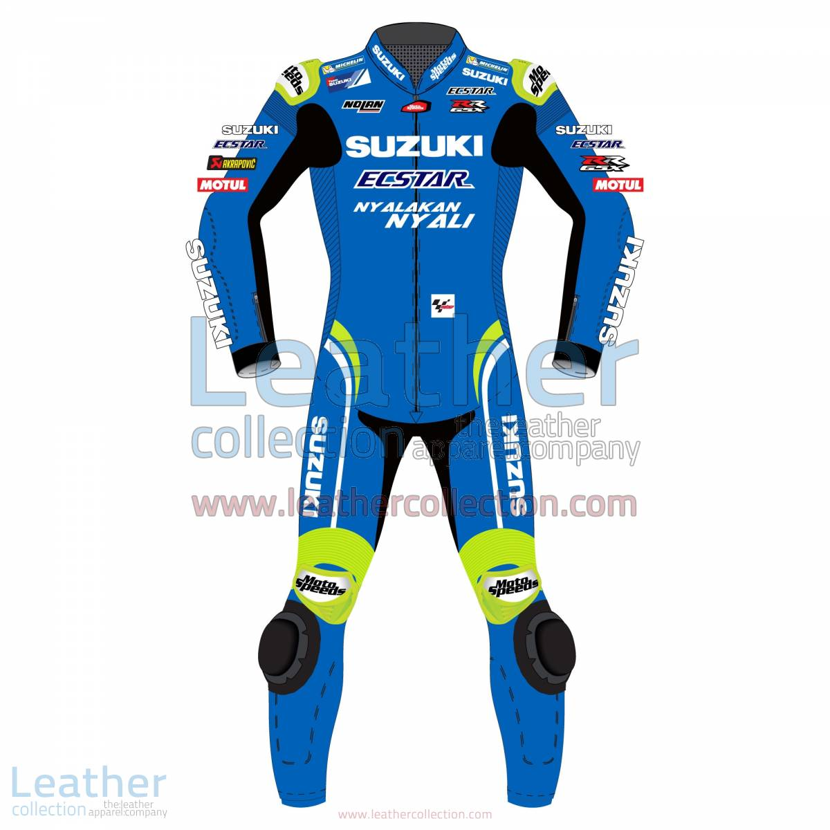 Alex Rins Suzuki MotoGP 2018 Leather Suit | Alex Rins Suzuki MotoGP 2018 Leather Suit