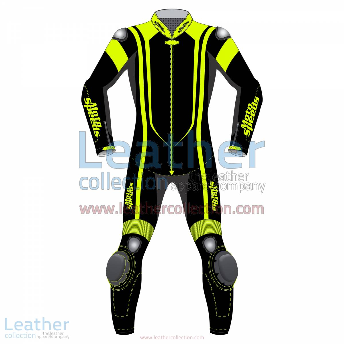 Alpha Neon Leather Motorbike Suit | leather motorcycle suit