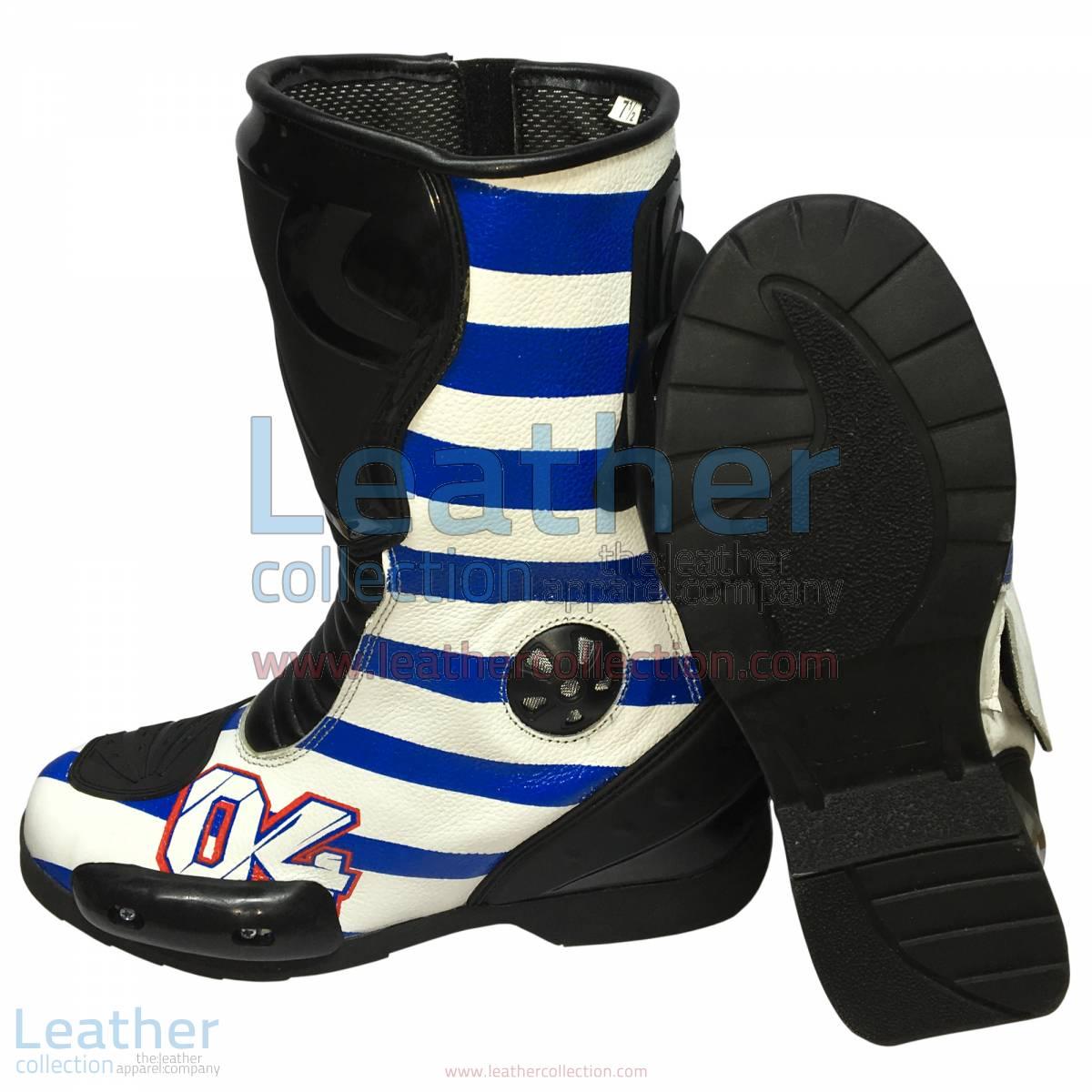 Andrea Dovizioso 2016 MotoGP Racing Boots | Andrea Dovizioso 2016 MotoGP Racing Boots