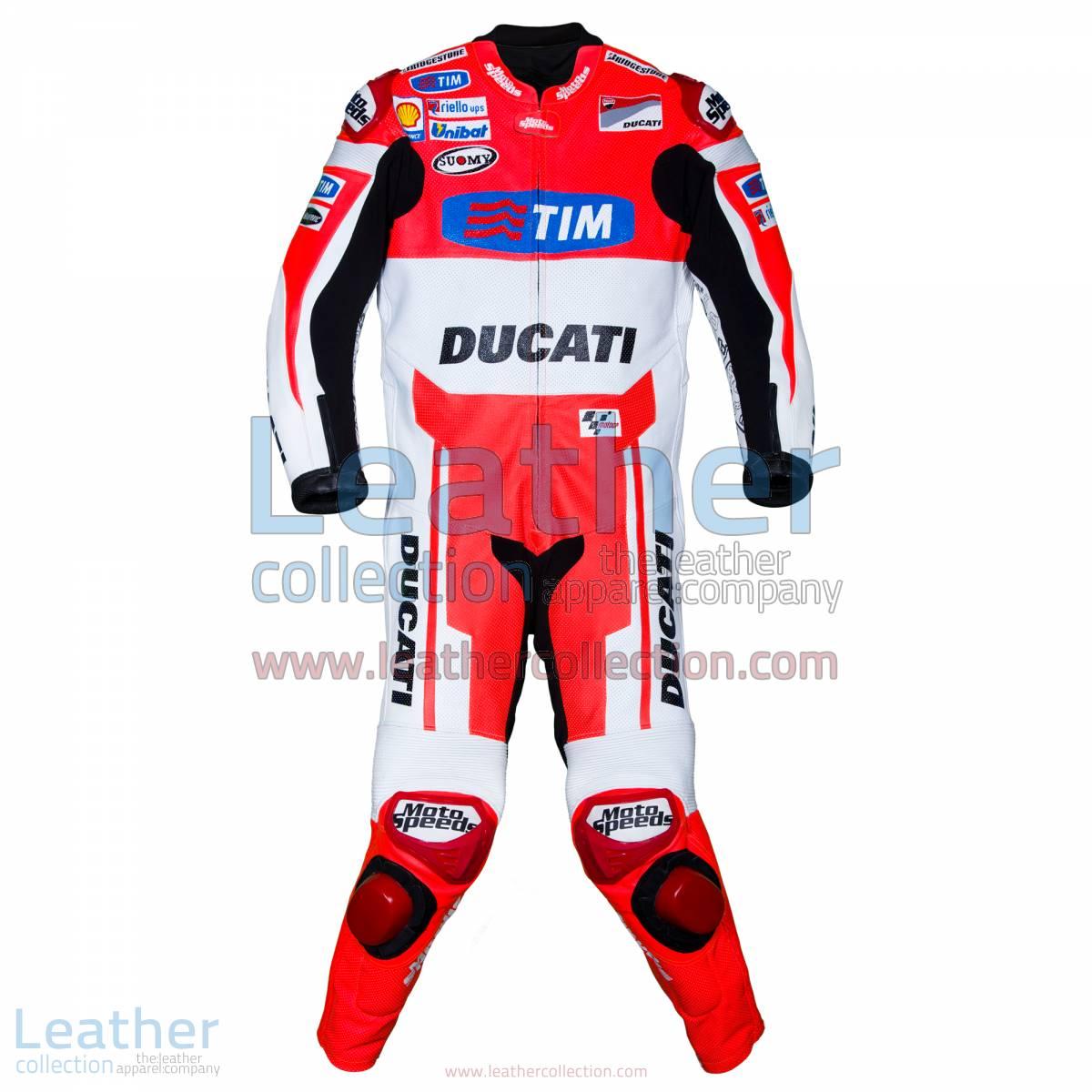 Andrea Dovizioso Ducati MotoGP 2015 Leathers | MotoGP 2015