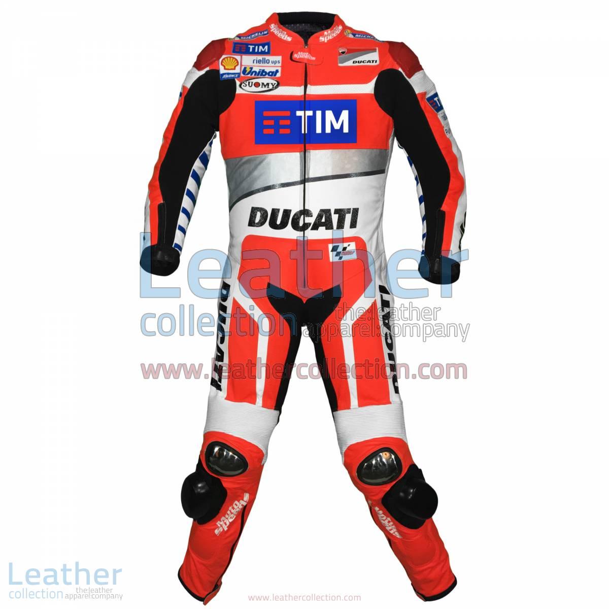 Andrea Dovizioso Ducati MotoGP 2016 Race Suit | Ducati race suit