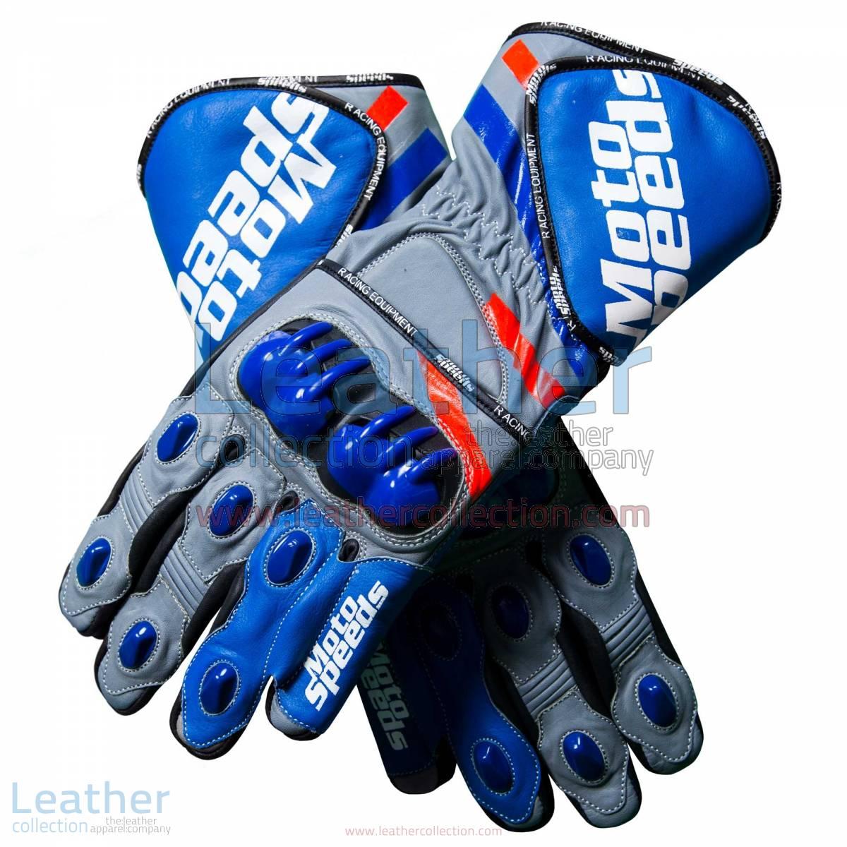 Andrea Dovizioso MotoGP 2018 Leather Gloves | Andrea Dovizioso MotoGP 2018 Leather Gloves