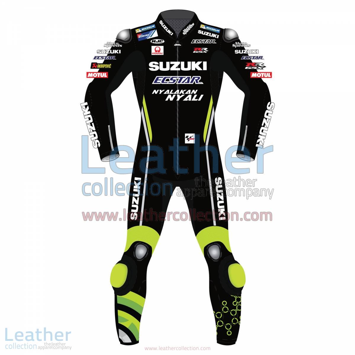 Andrea Iannone Suzuki MotoGP 2018 Leather Suit Black   Andrea Iannone Suzuki MotoGP 2018 Leather Suit Black