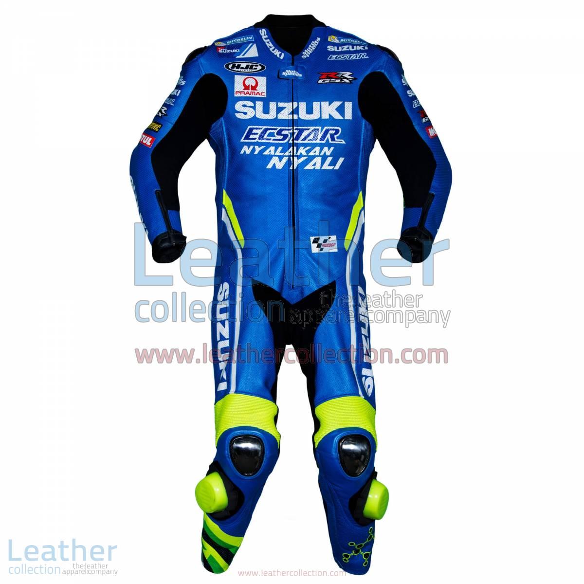 Andrea Iannone Suzuki MotoGP 2018 Leather Suit | Andrea Iannone Suzuki MotoGP 2018 Leather Suit