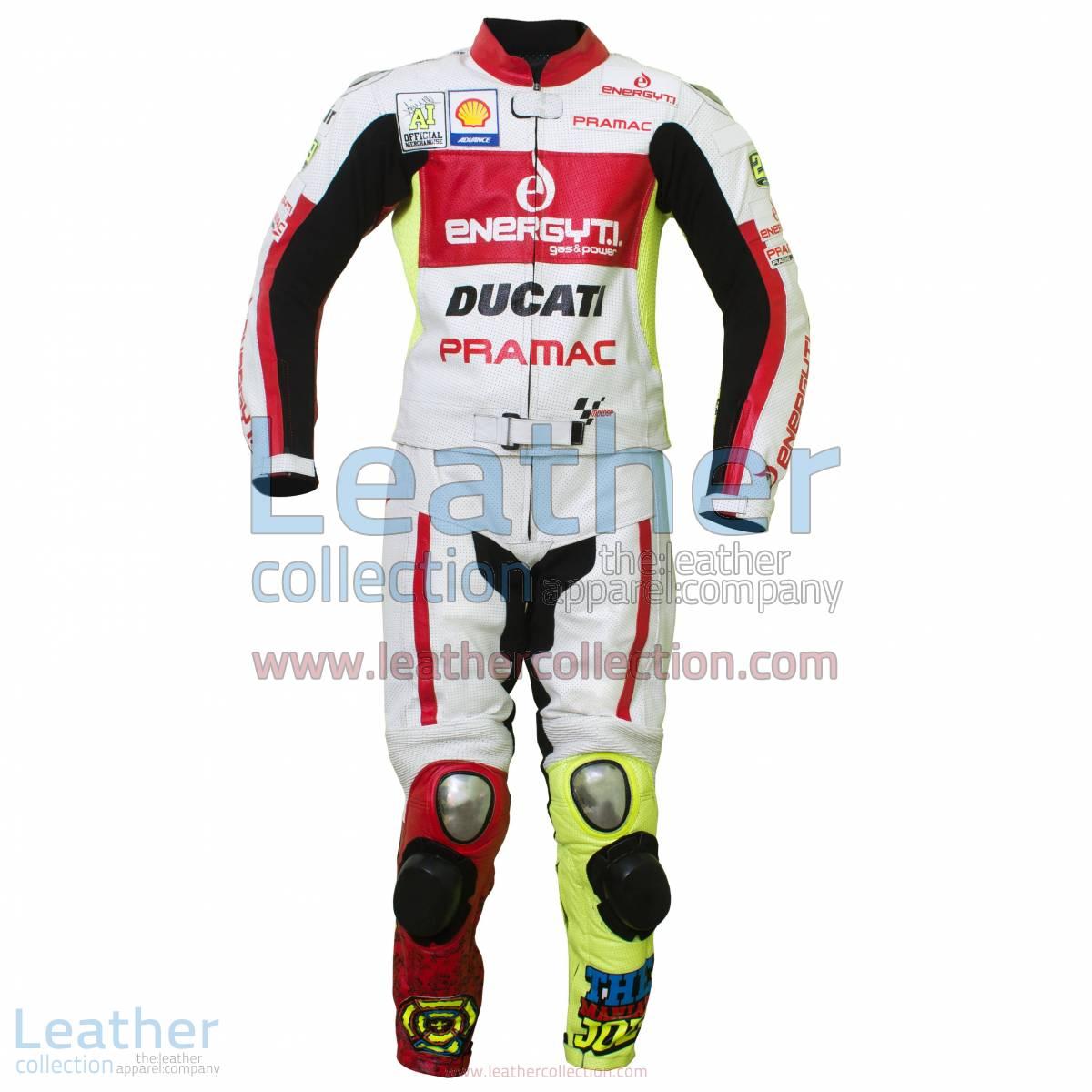 Andrea Iannone Ducati 2013 Leathers | ducati leathers