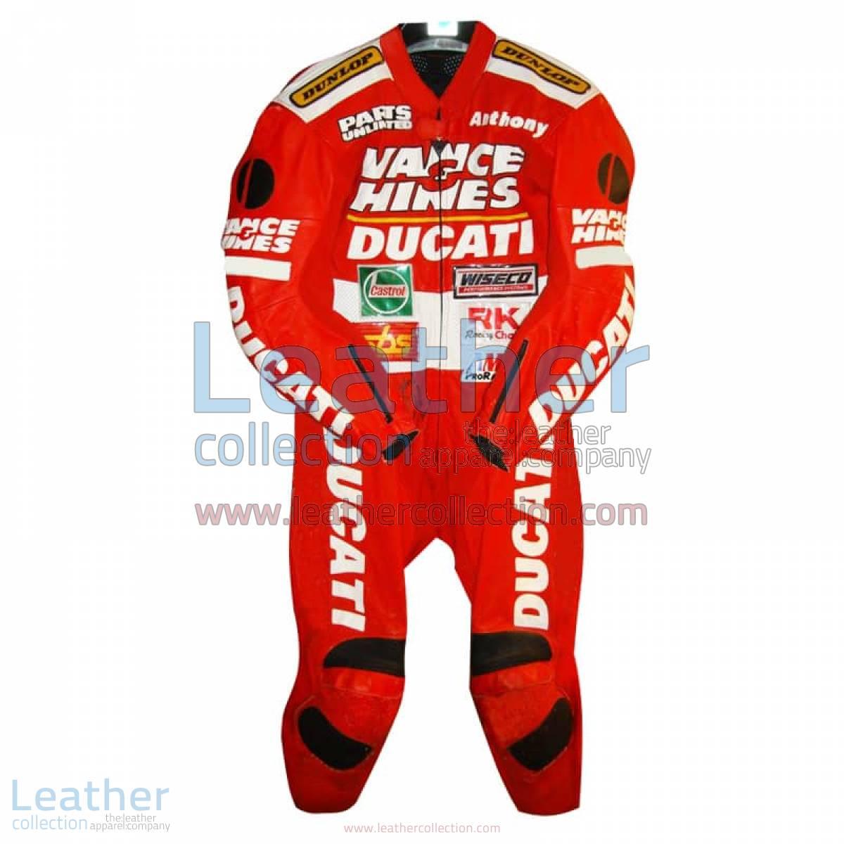 Anthony Gobert Vance & Hines Ducati Leathers 1998 - 1999 AMA | ducati leathers