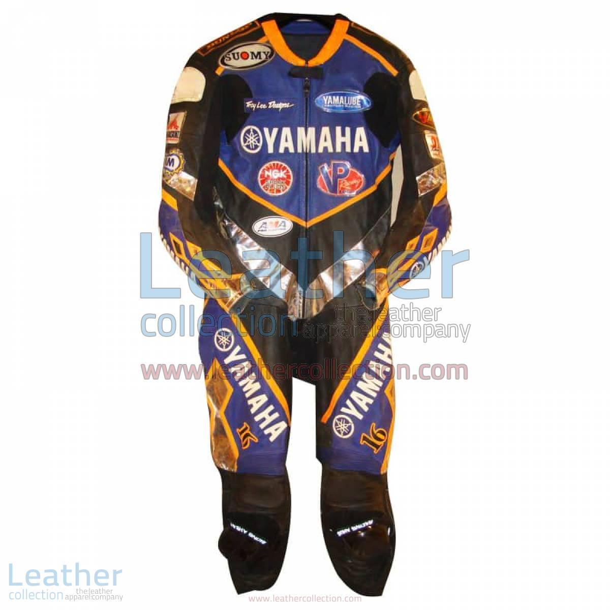 Anthony Gobert Yamaha Leathers 2002 AMA | yamaha leathers