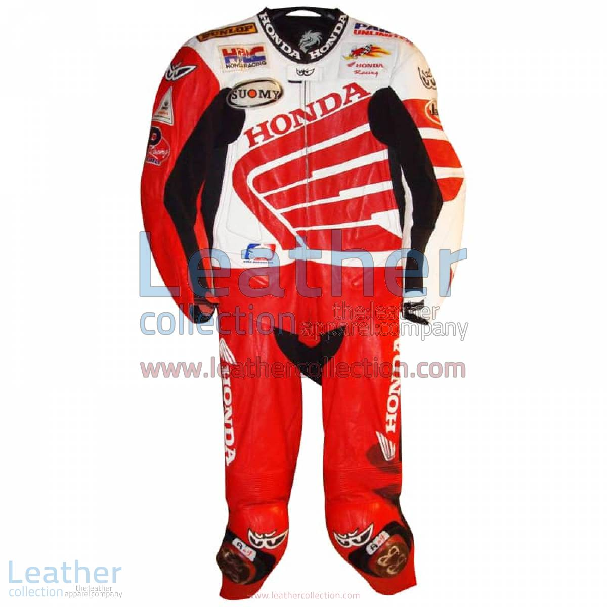 Ben Bostrom American Honda 2004 AMA Leathers | honda leathers
