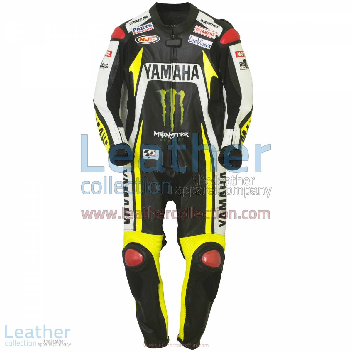 Ben Spies Monster Yamaha 2010 Motorbike Leather Suit | yamaha suit