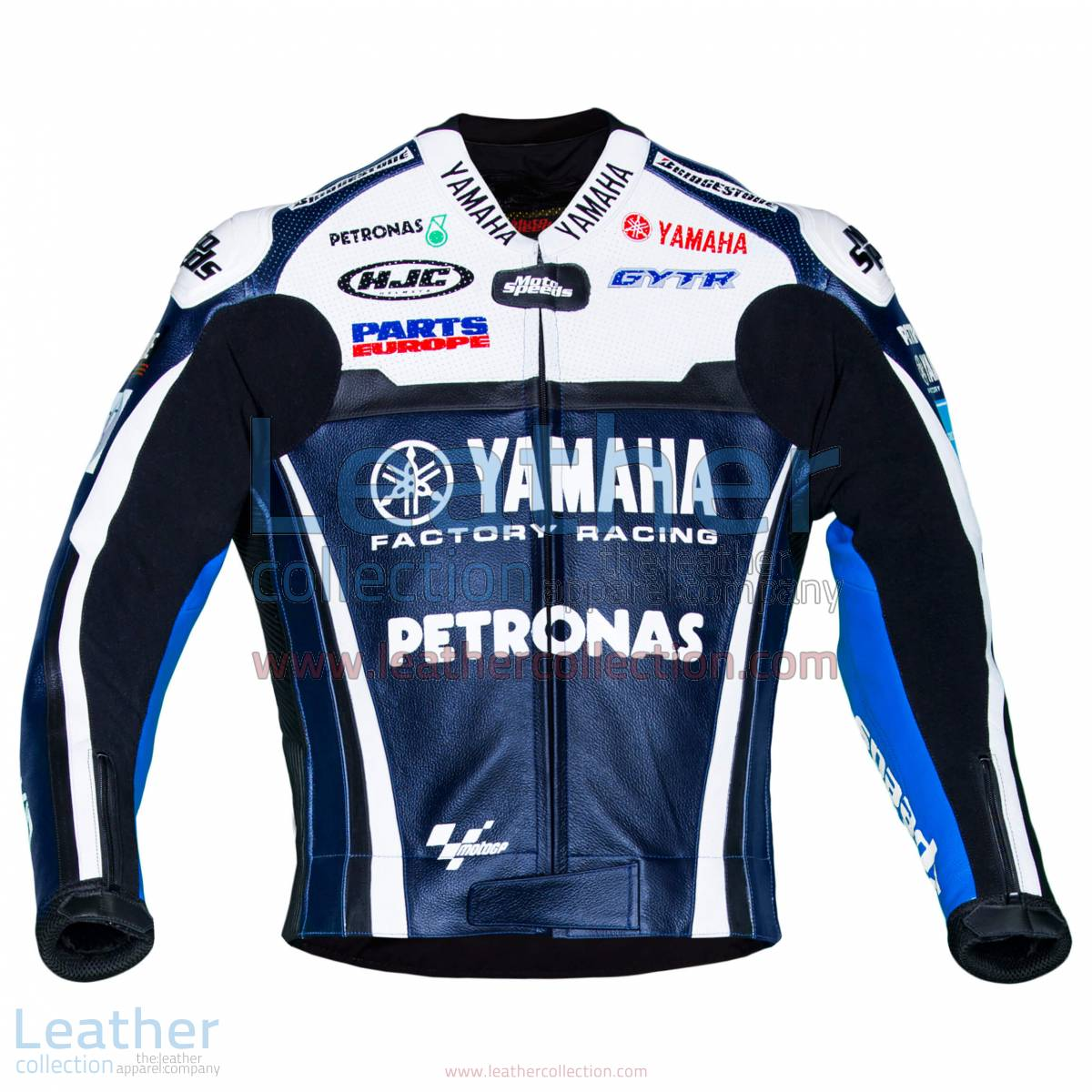 Ben Spies Yamaha 2011 MotoGP Leather Jacket | Ben Spies Yamaha 2011 MotoGP Leather Jacket