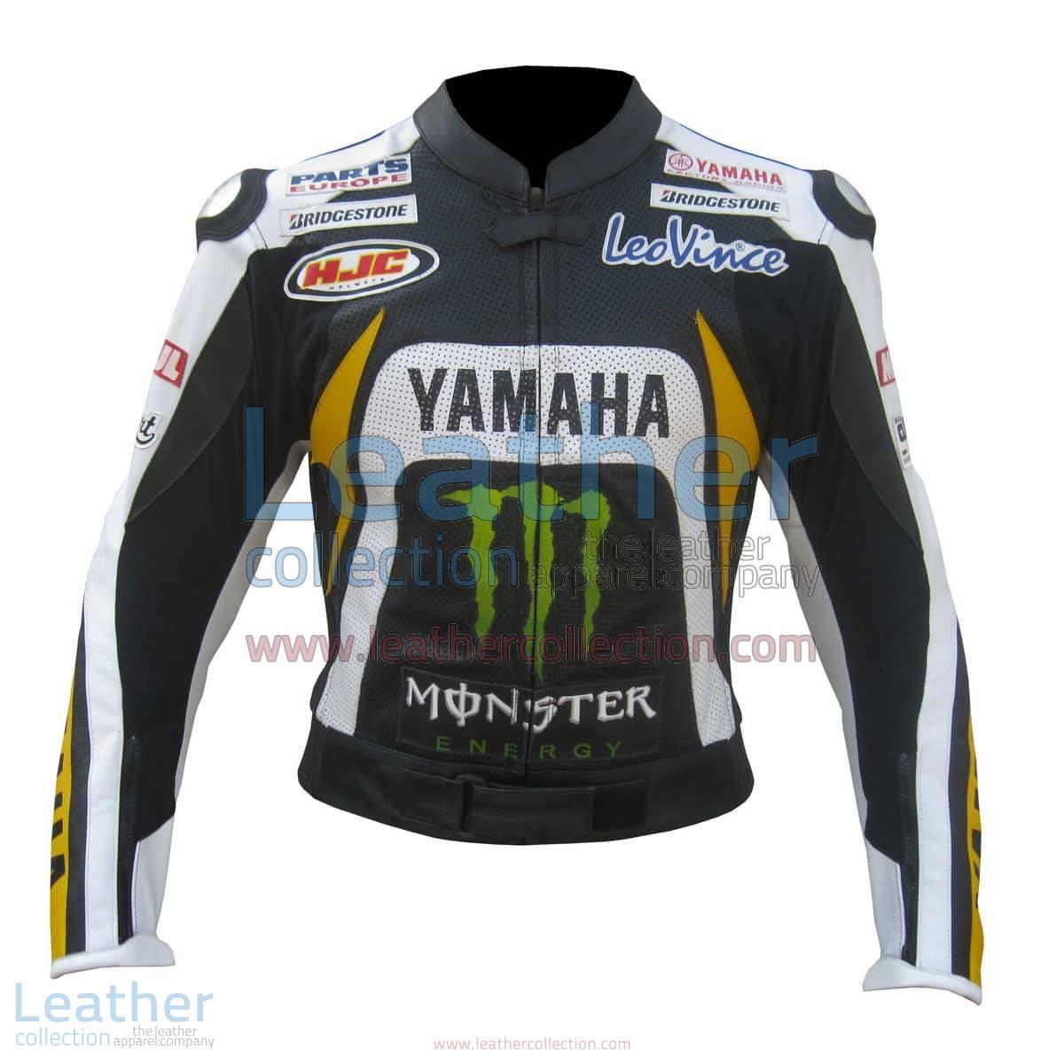 Ben Spies Yamaha Monster 2010 Leather Jacket | yamaha monster