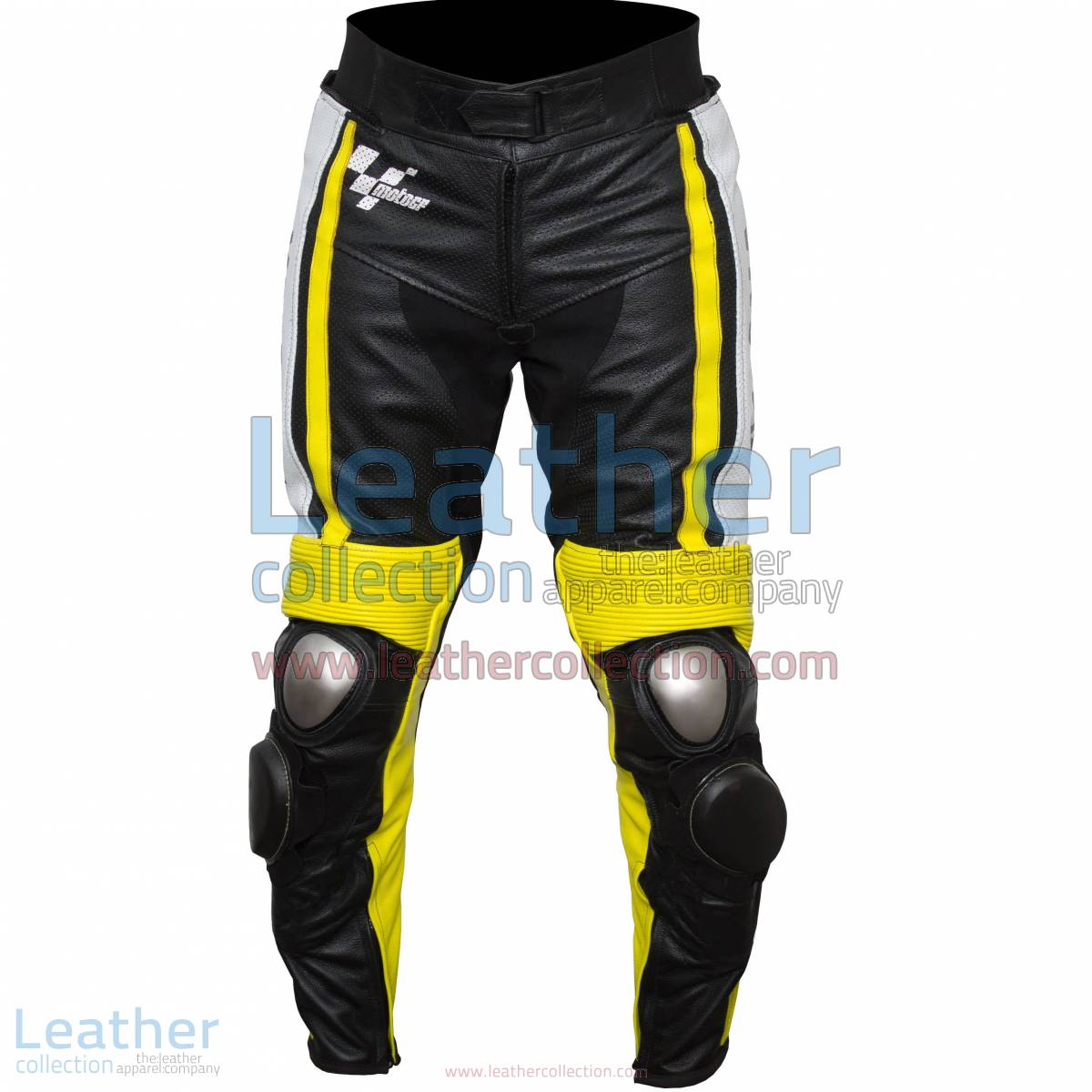 Ben Spies Yamaha Monster 2010 Leather Motorcycle Pants | motorcycle pants
