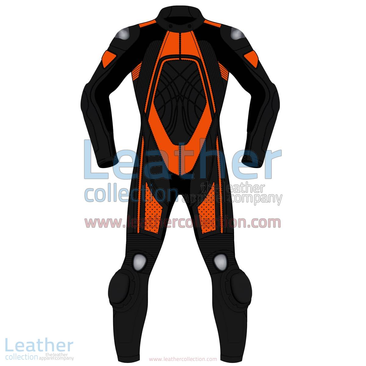 Bi Color One-Piece Motorbike Leather Suit For Men | Bi Color One-Piece motorcycle Leather Suit For Men