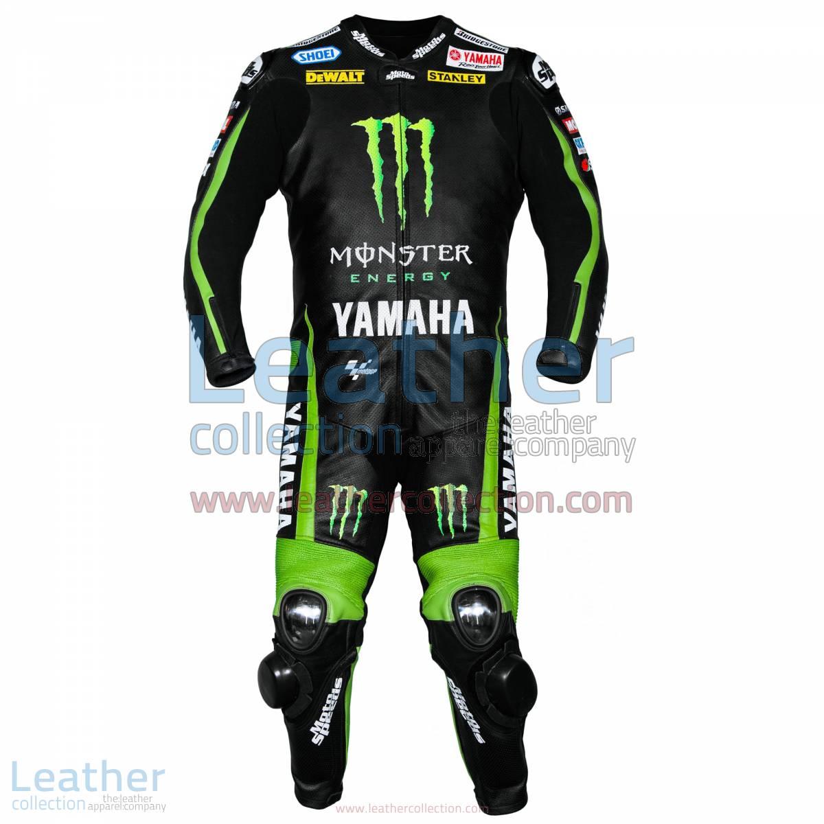 Bradley Smith Yamaha Monster Energy 2015 Leathers | monster energy leathers