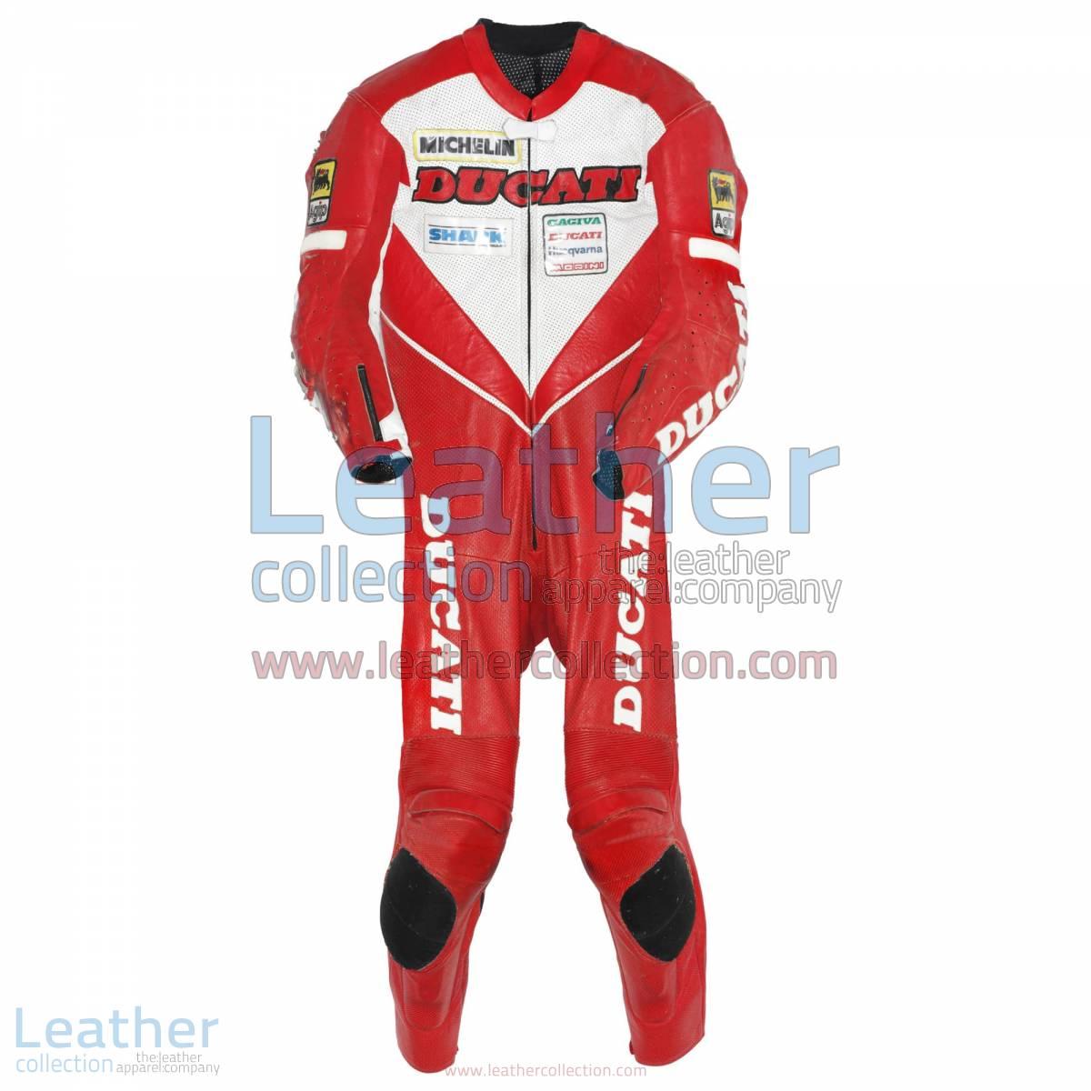 Carl Fogarty Ducati WSBK 1995 Leather Suit | ducati leather suit
