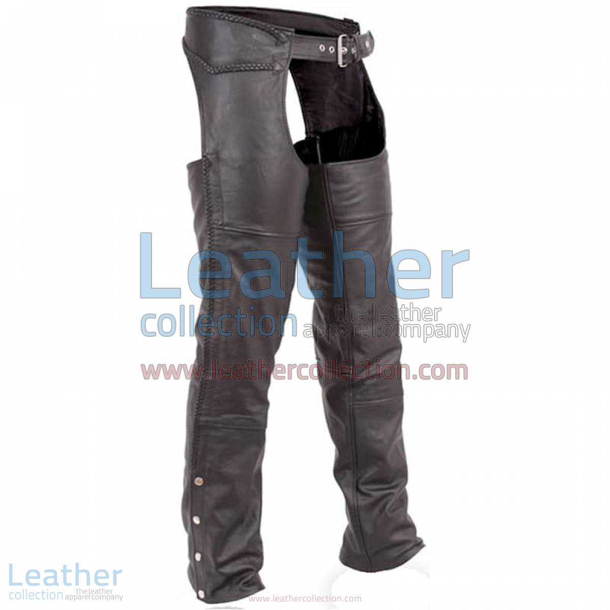 Classic Motorcycle Braided Chaps | motorcycle chaps