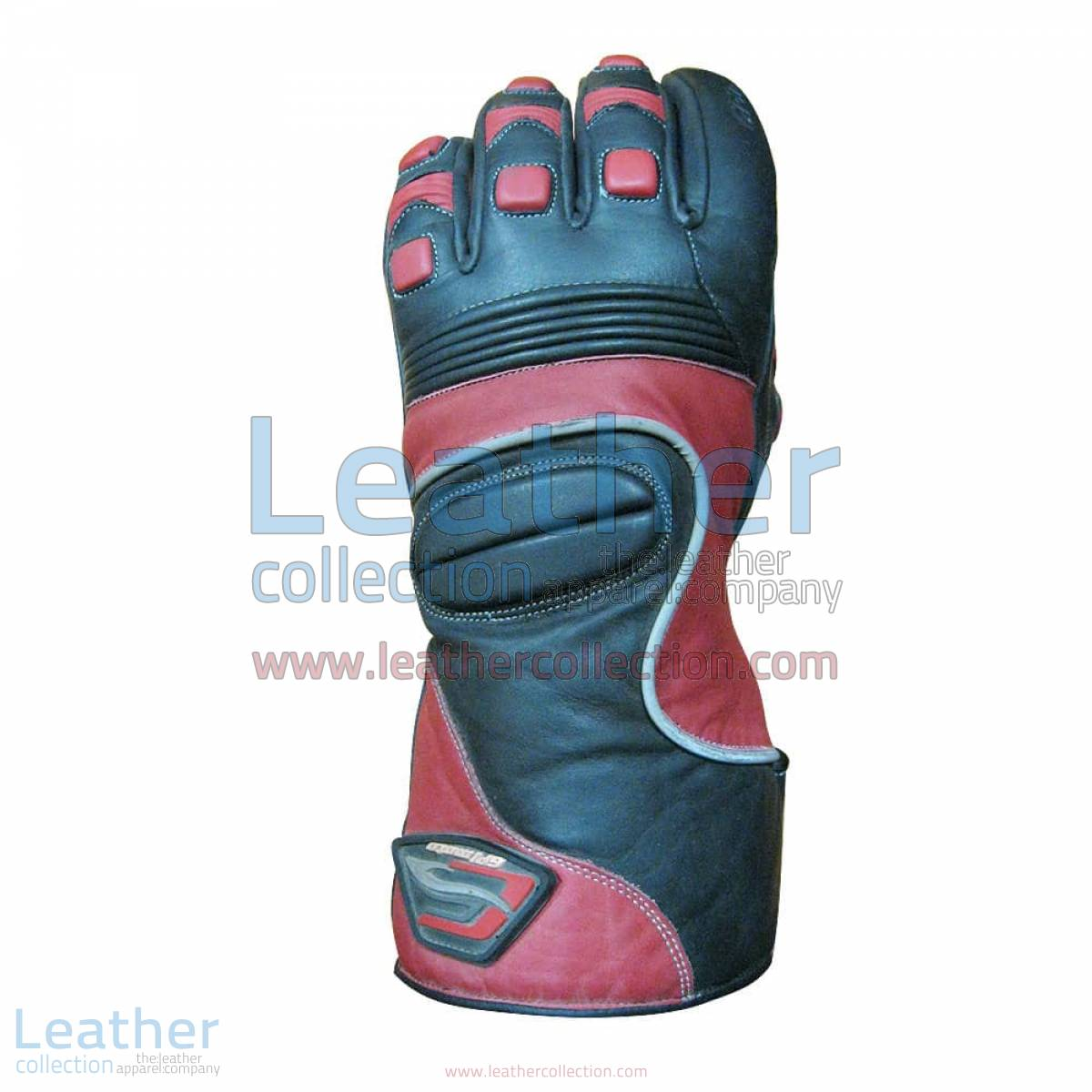 Crescent Motorcycle Leather Gloves | motorcycle leather gloves