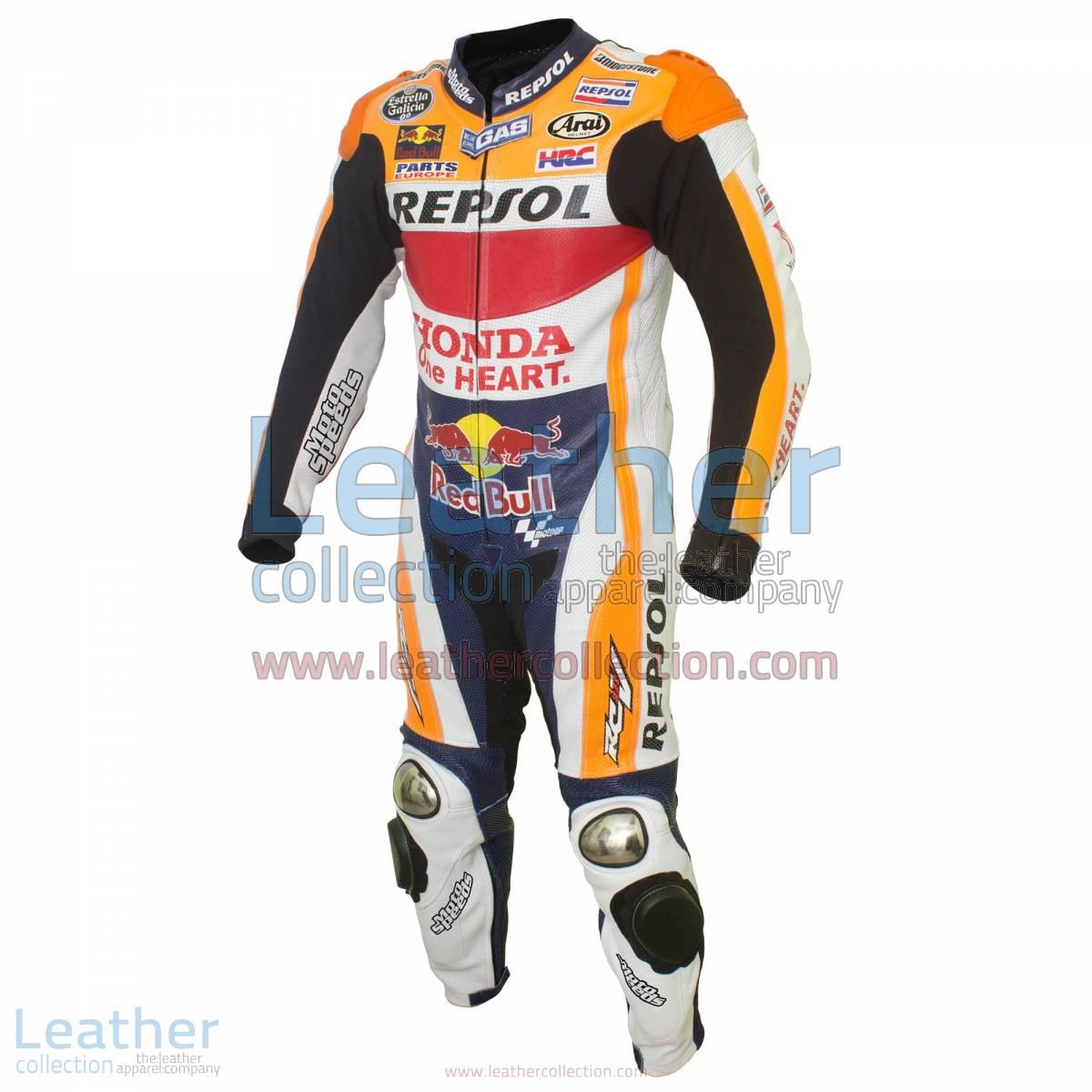 Dani Pedrosa Honda Repsol MotoGP 2015 Leathers | Dani Pedrosa leathers