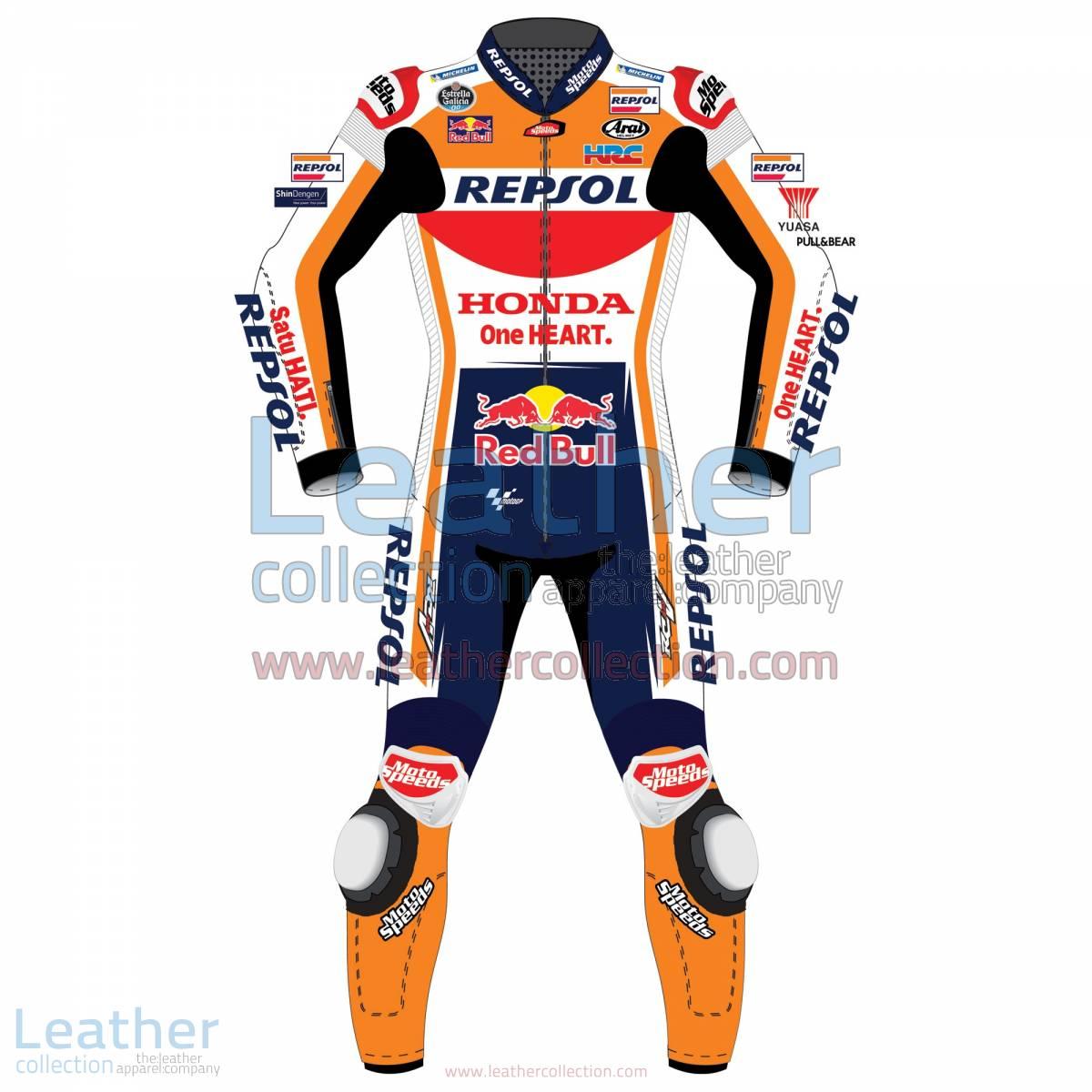 Dani Pedrosa Honda Repsol MotoGP 2018 Leather Suit | Dani Pedrosa Honda Repsol MotoGP 2018 Leather Suit