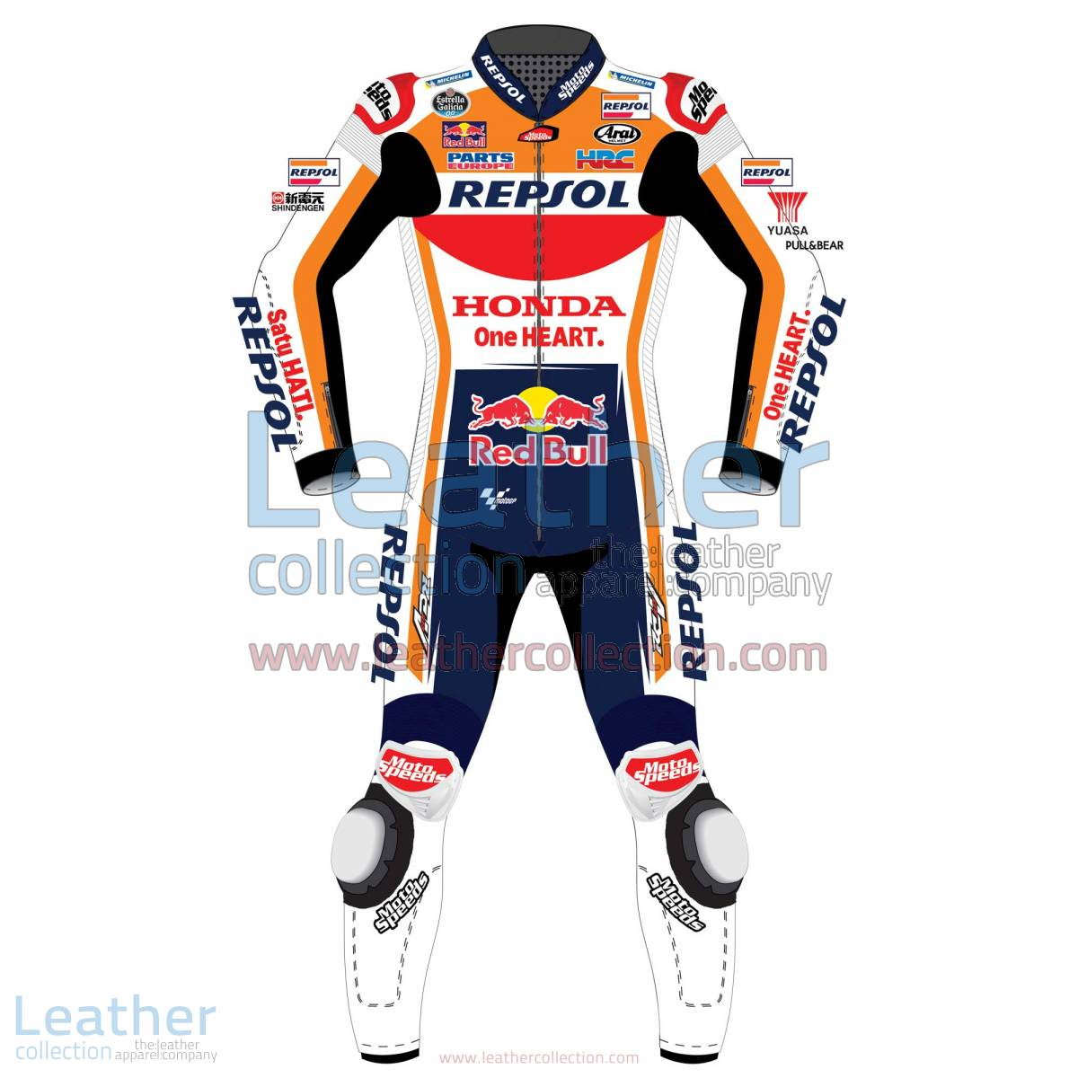 Dani Pedrosa HRC Honda Repsol MotoGP 2017 Race Suit | Dani Pedrosa HRC Honda Repsol MotoGP 2017 Race Suit
