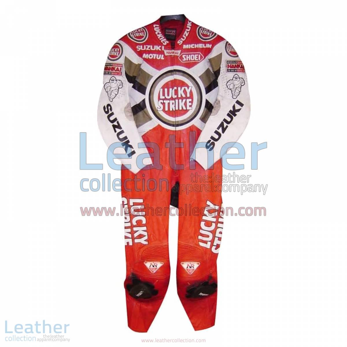 Daryl Beattie Suzuki Lucky Strike Leathers 1995 MotoGP | motogp leathers