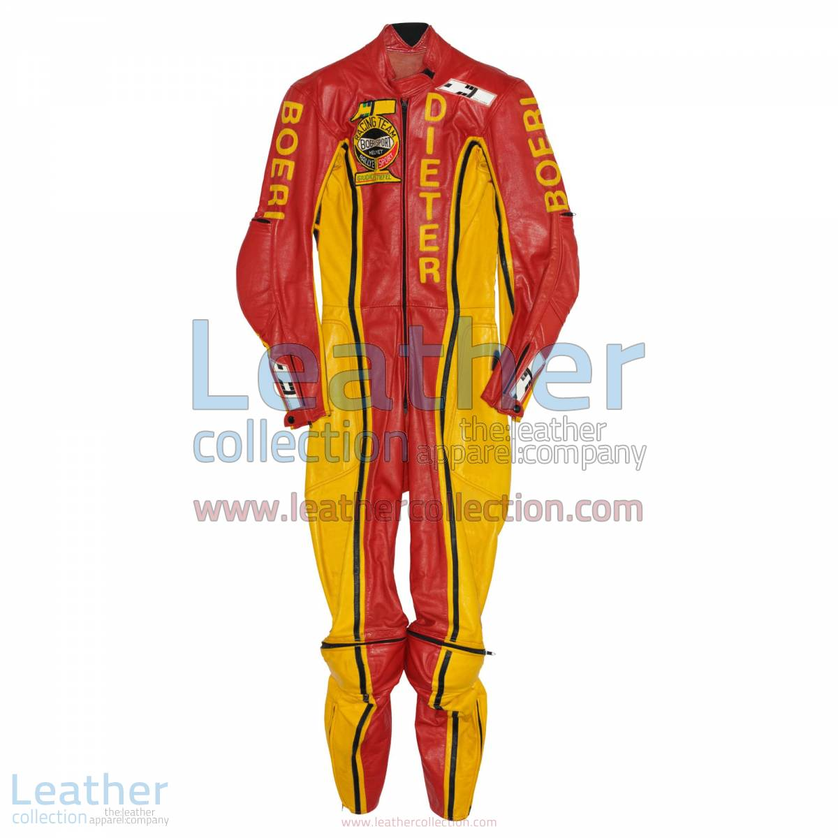 Dieter Braun Yamaha GP 1973 Leather Suit | yamaha leather suit