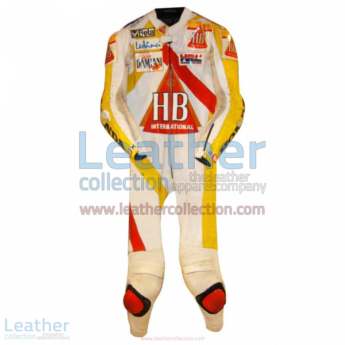 Doriano Romboni Honda HB Race Suit 1994 GP   honda race suit