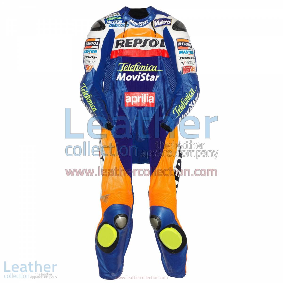 Fonsi Nieto Aprilia GP 2003 Leather Suit | aprilia suit
