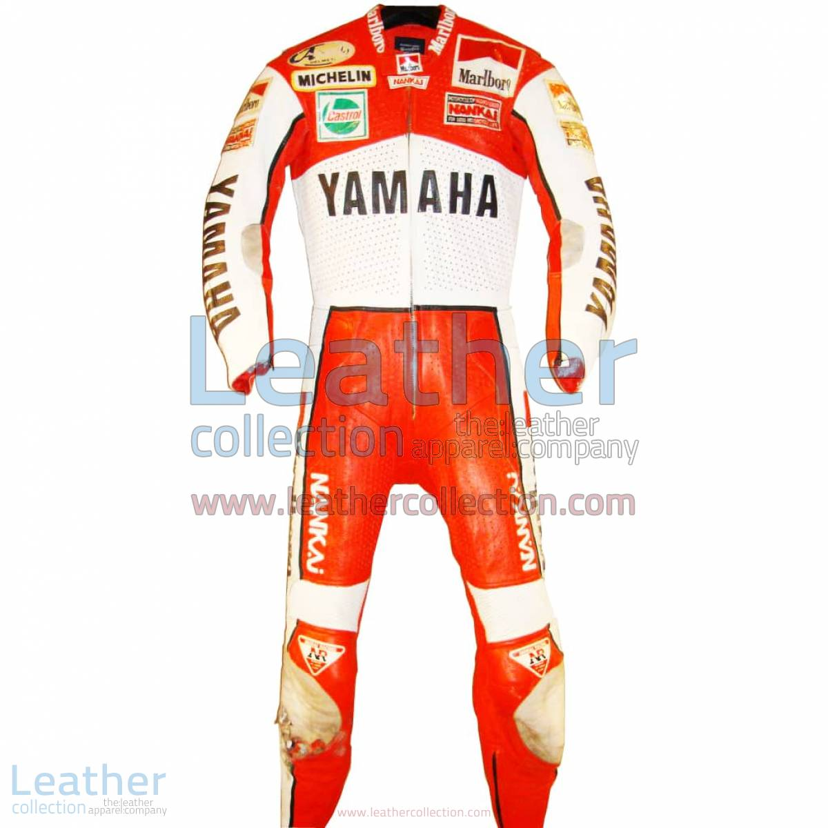 Freddie Spencer Marlboro Yamaha GP 1989 Leathers   yamaha leathers