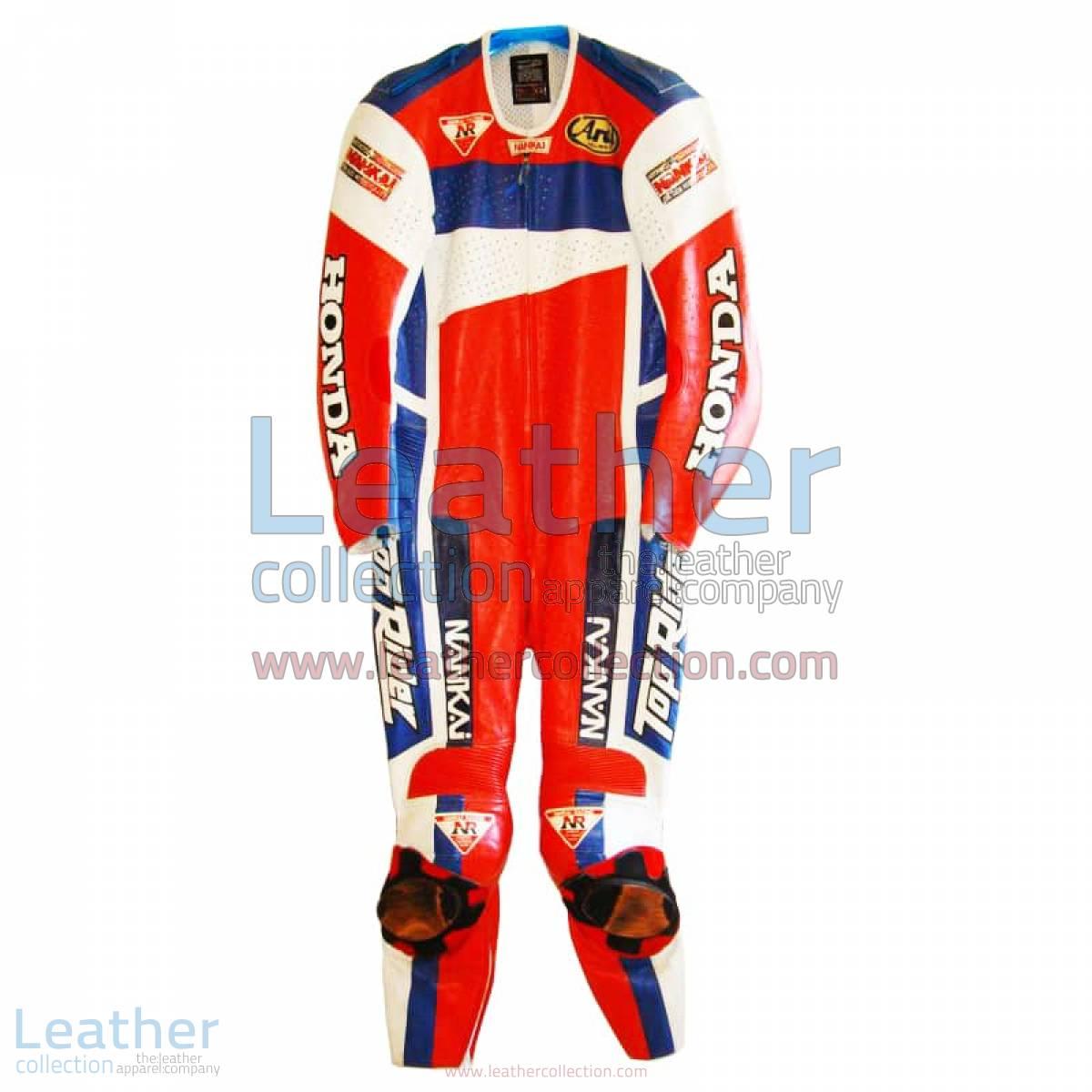 Freddie Spencer Nankai Honda Motorcycle GP 1991 Leathers | honda leathers