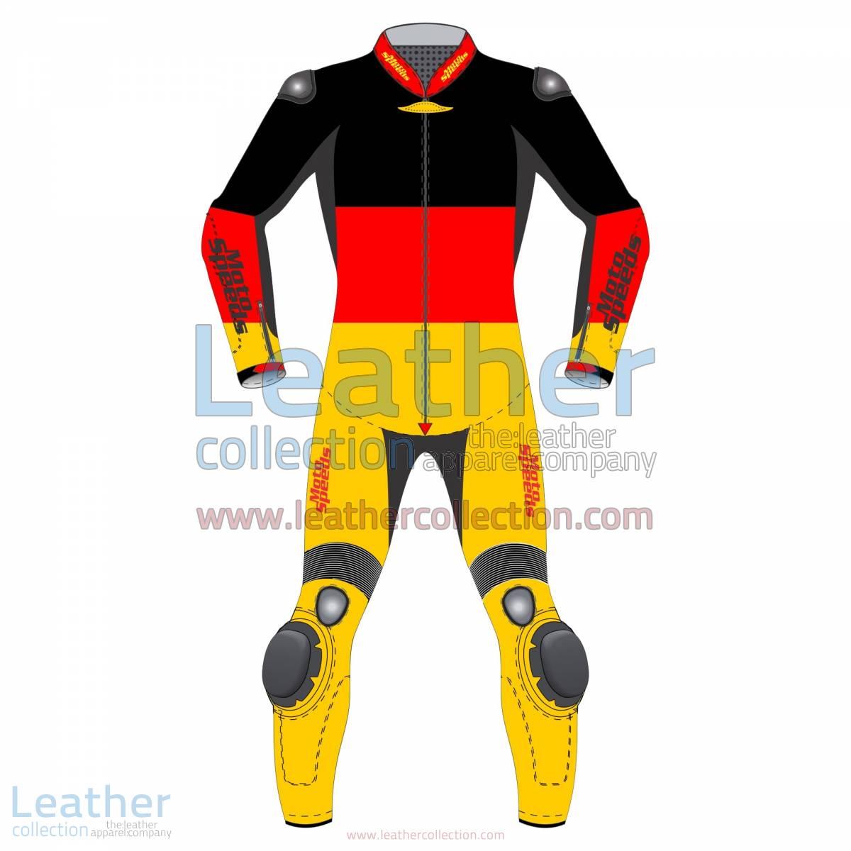 German Flag Motorcycle Racing Suit | motorcycle racing suit
