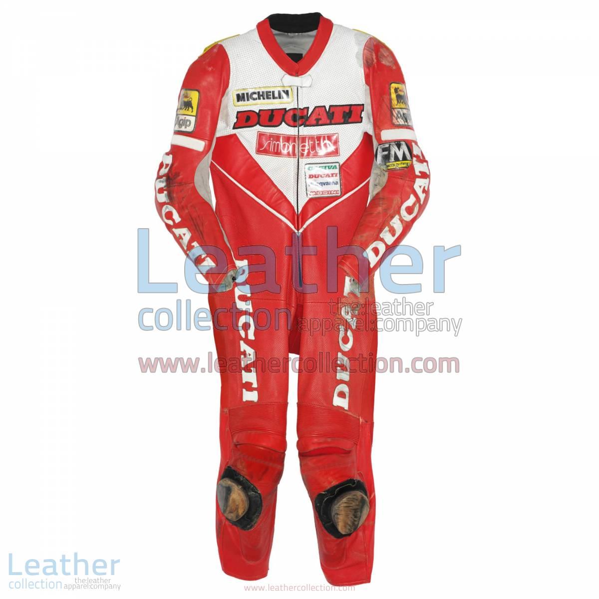 Giancarlo Falappa Ducati WSBK 1993 Leathers | ducati leathers