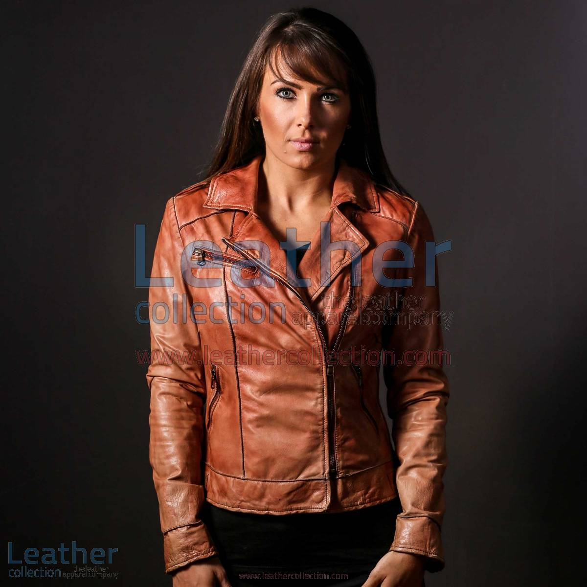 Ginger Leather Jacket for Women | ginger jacket