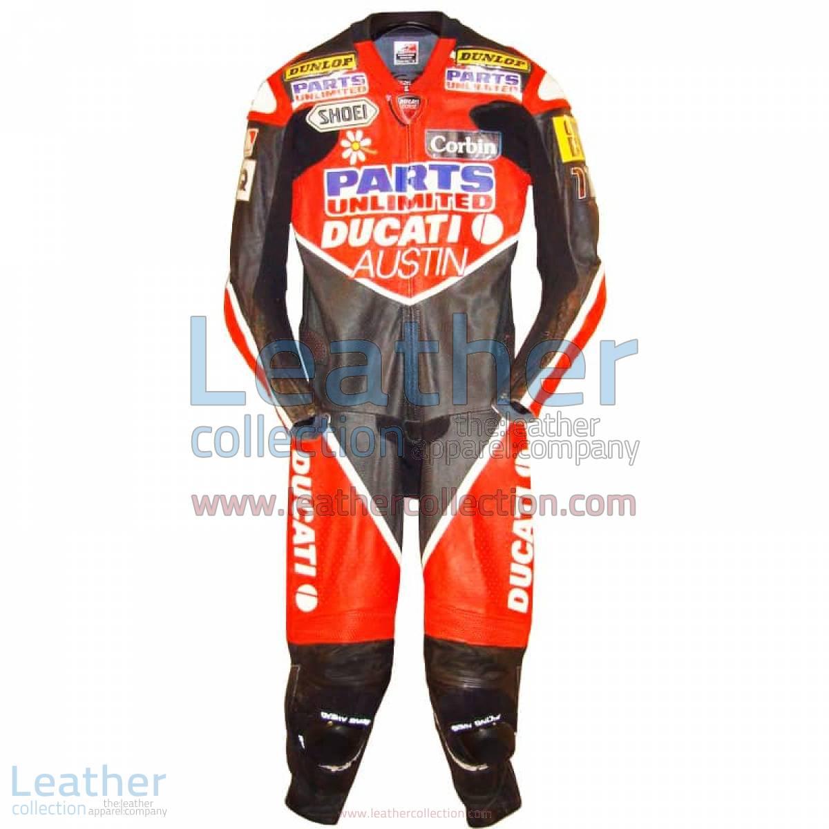 Giovanni Bussei Ducati WSBK 2005 Leathers | ducati leathers