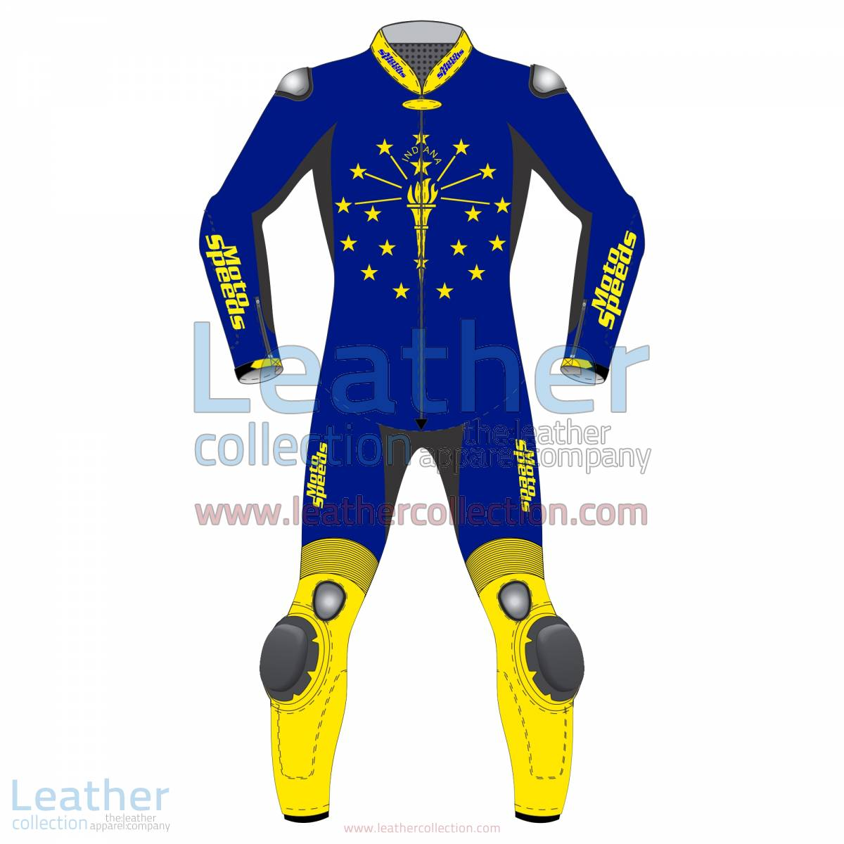 Indiana Flag Motorbike Racing Suit | motorcycle racing suit