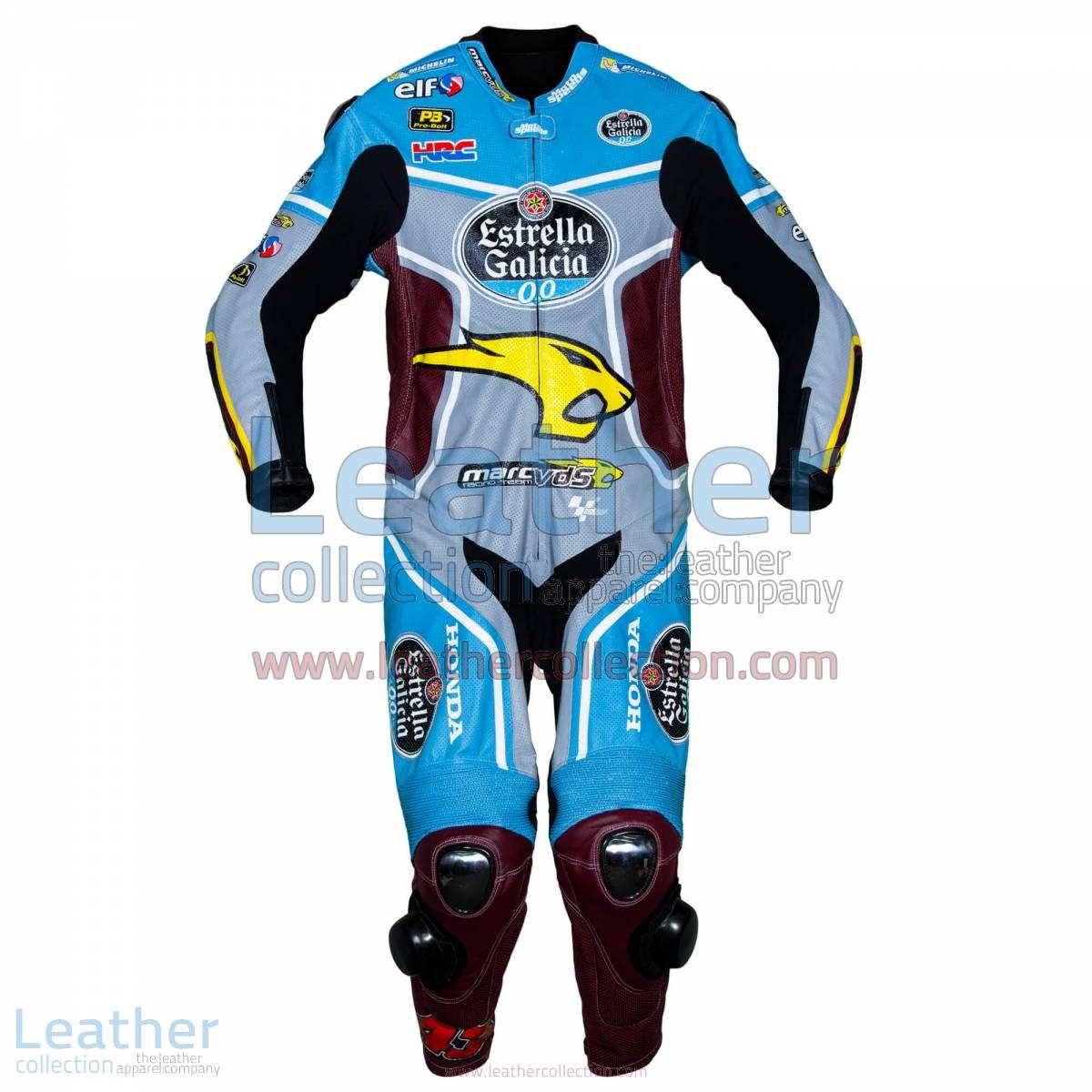 Jack Miller Estrella Galicia Honda 2017 MotoGP Race Suit | Jack Miller Estrella Galicia Honda 2017 MotoGP Race Suit