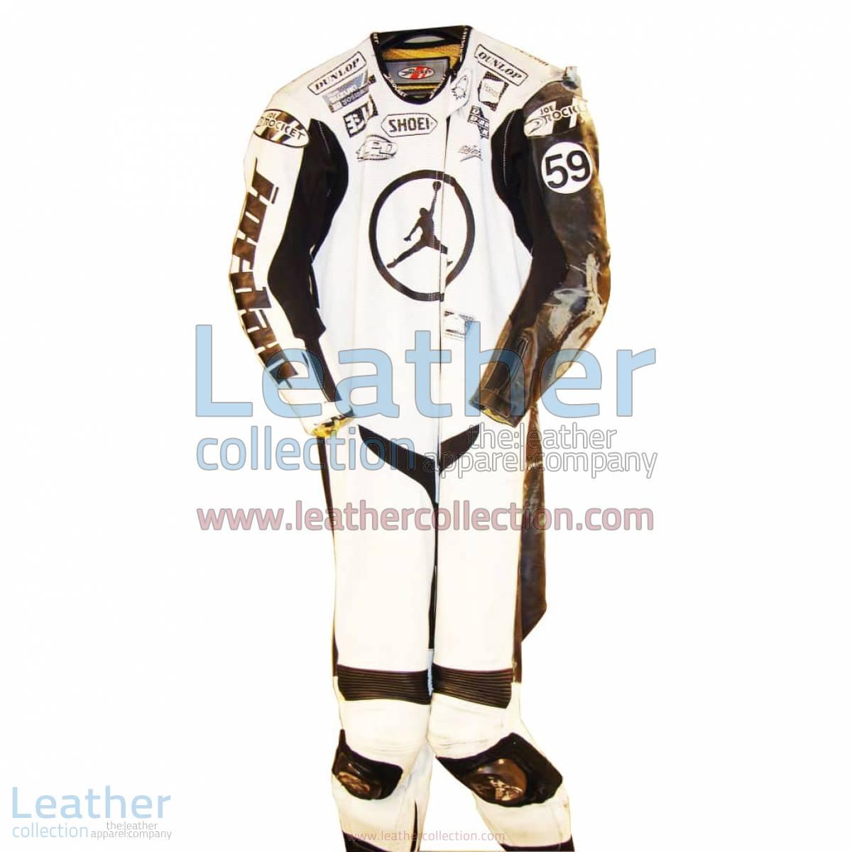 Jake Holden Suzuki AMA 2006 Leather Suit   suzuki leather suit