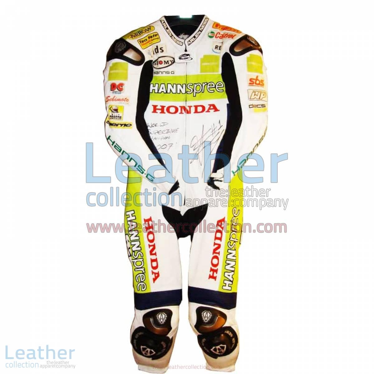 James Toseland Honda WSBK 2007 Leathers | james toseland