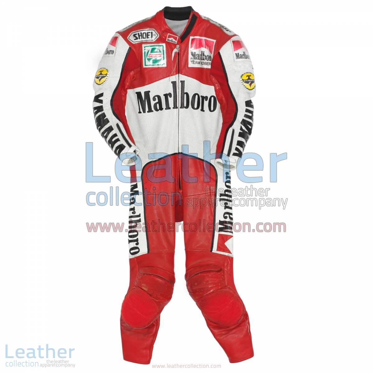 John Kocinski Marlboro Yamaha GP 1990 Leather Suit | yamaha suit