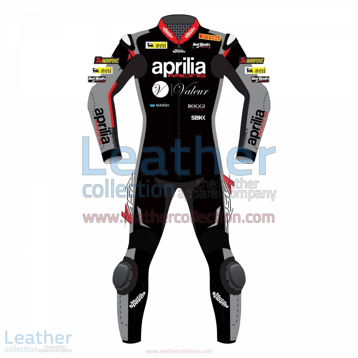 Jordi Torres Aprilia 2015 WSBK Leather Suit | aprilia suit