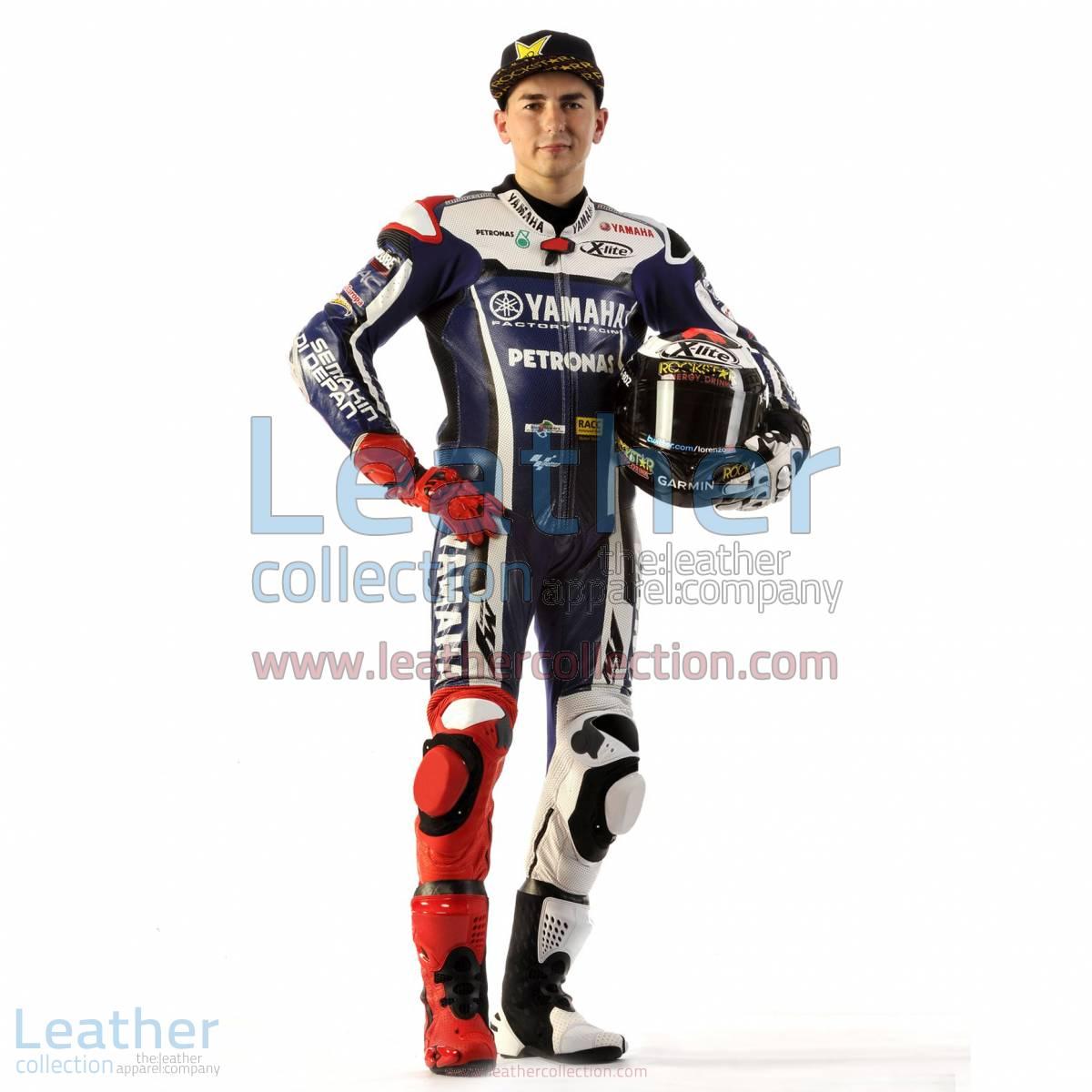 Jorge Lorenzo 2011 MotoGP Race Leather Suit | motogp suit