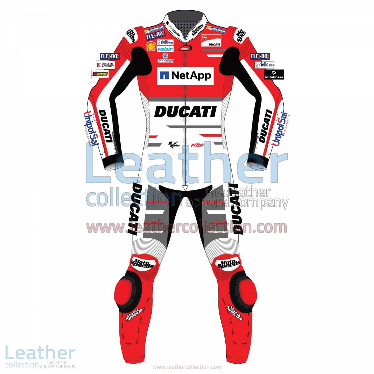 Jorge Lorenzo Ducati MotoGP 2018 Leather Suit | Jorge Lorenzo Ducati MotoGP 2018 Leather Suit