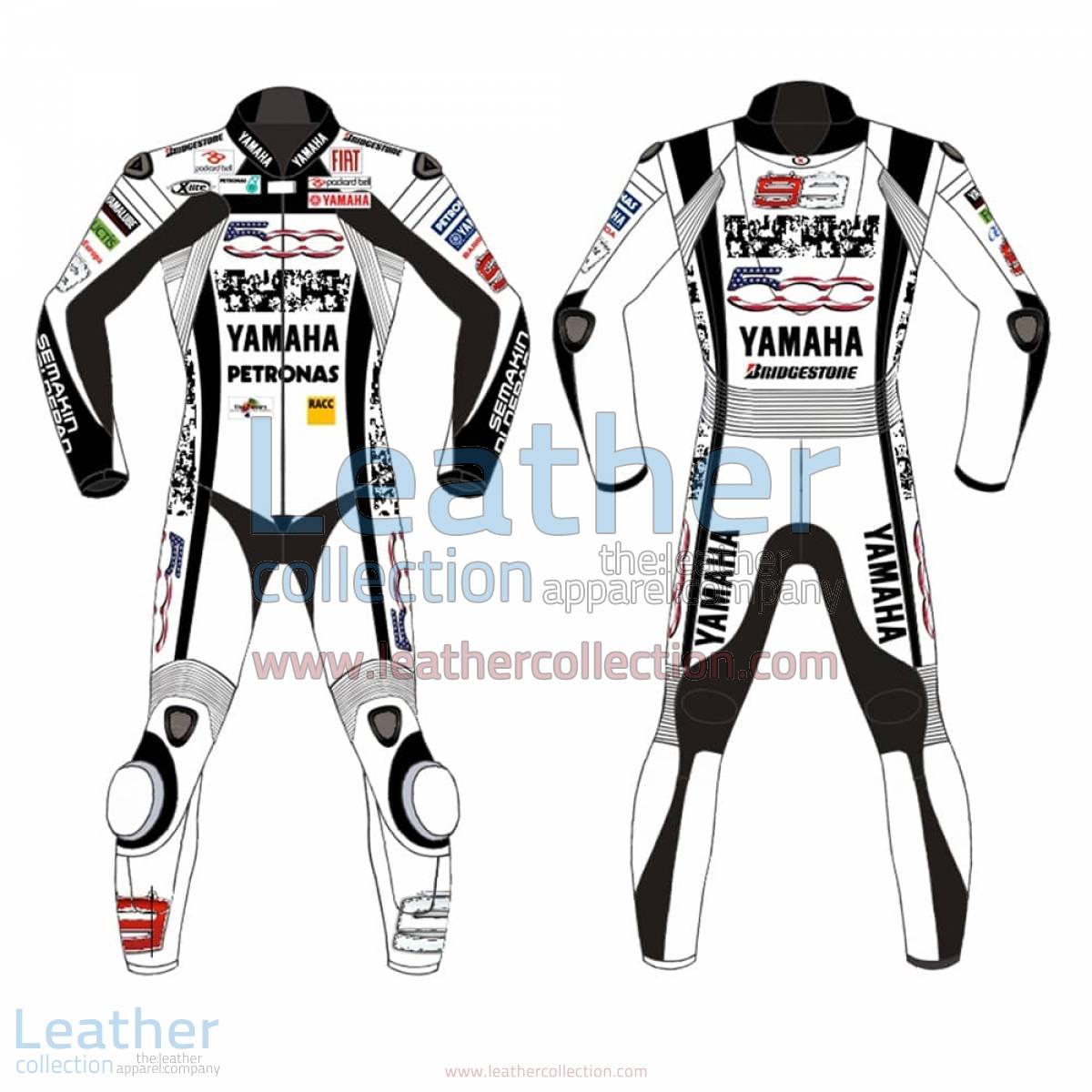 Jorge Lorenzo Special 500 Mila Leathers | jorge lorenzo