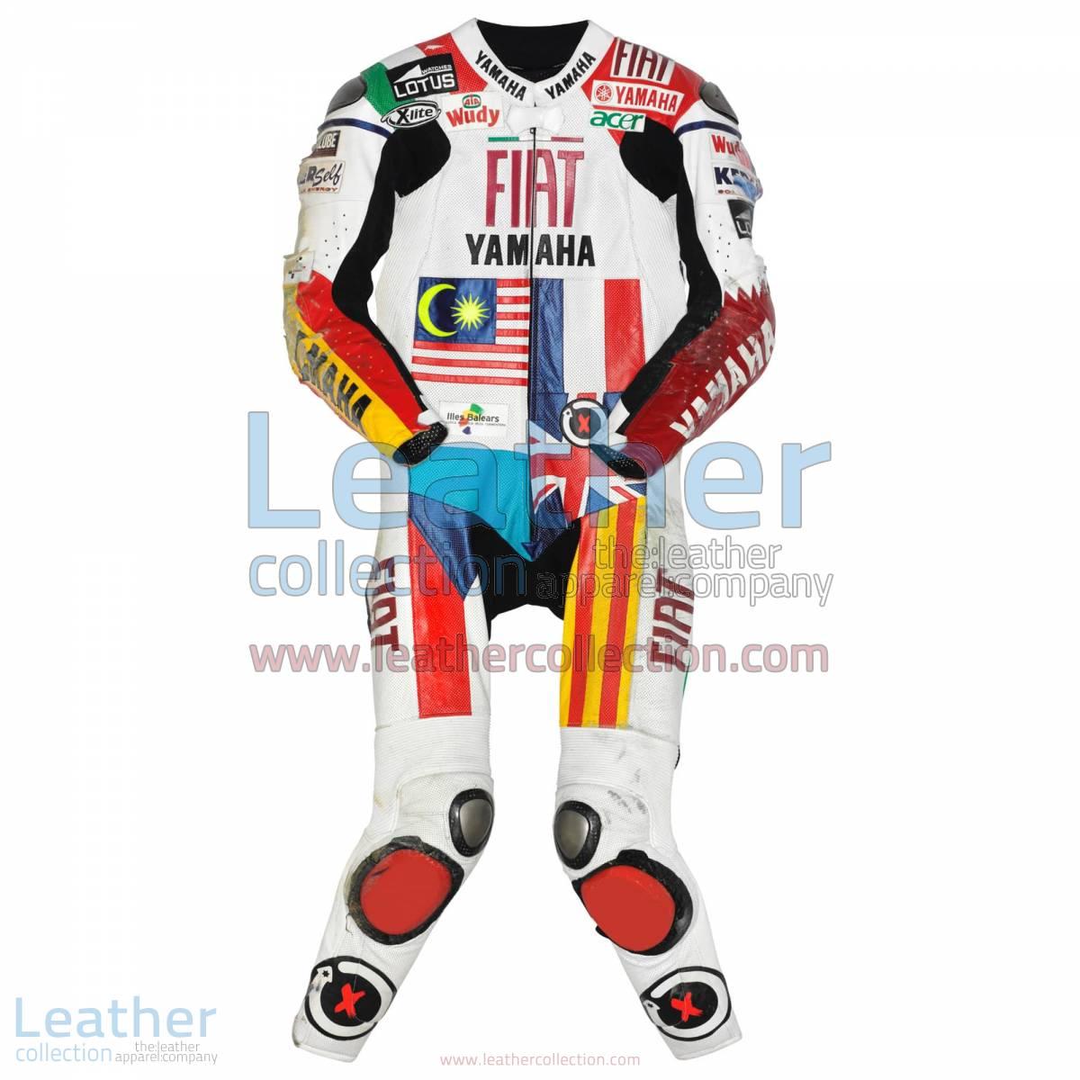 Jorge Lorenzo Yamaha MotoGP 2008 Leathers | Yamaha leathers