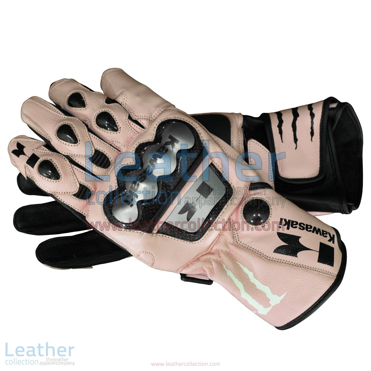 Kawasaki Monster Leather Gloves | Kawasaki gloves